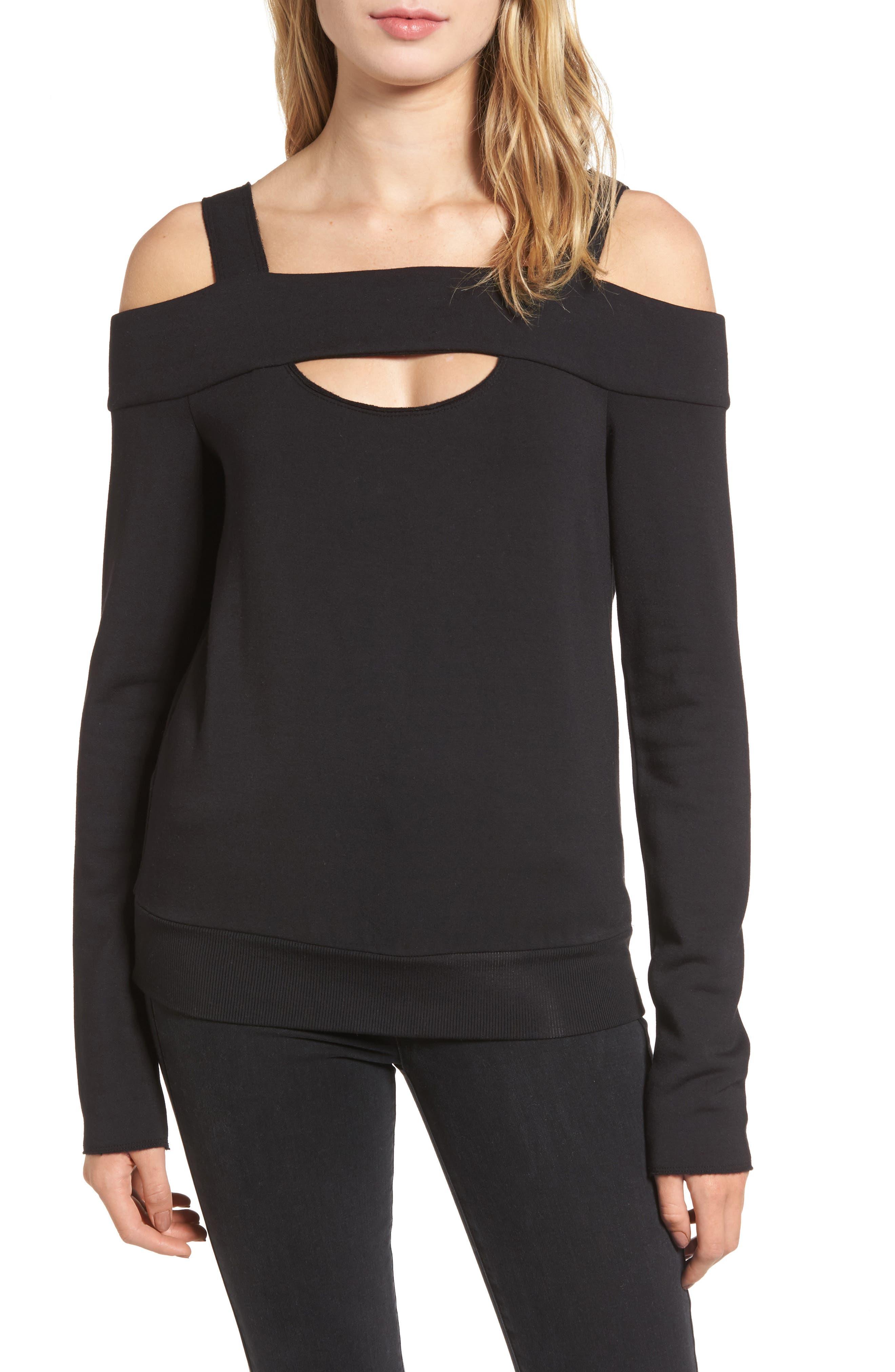 Main Image - Bailey 44 Ground Swell Cold Shoulder Sweatshirt