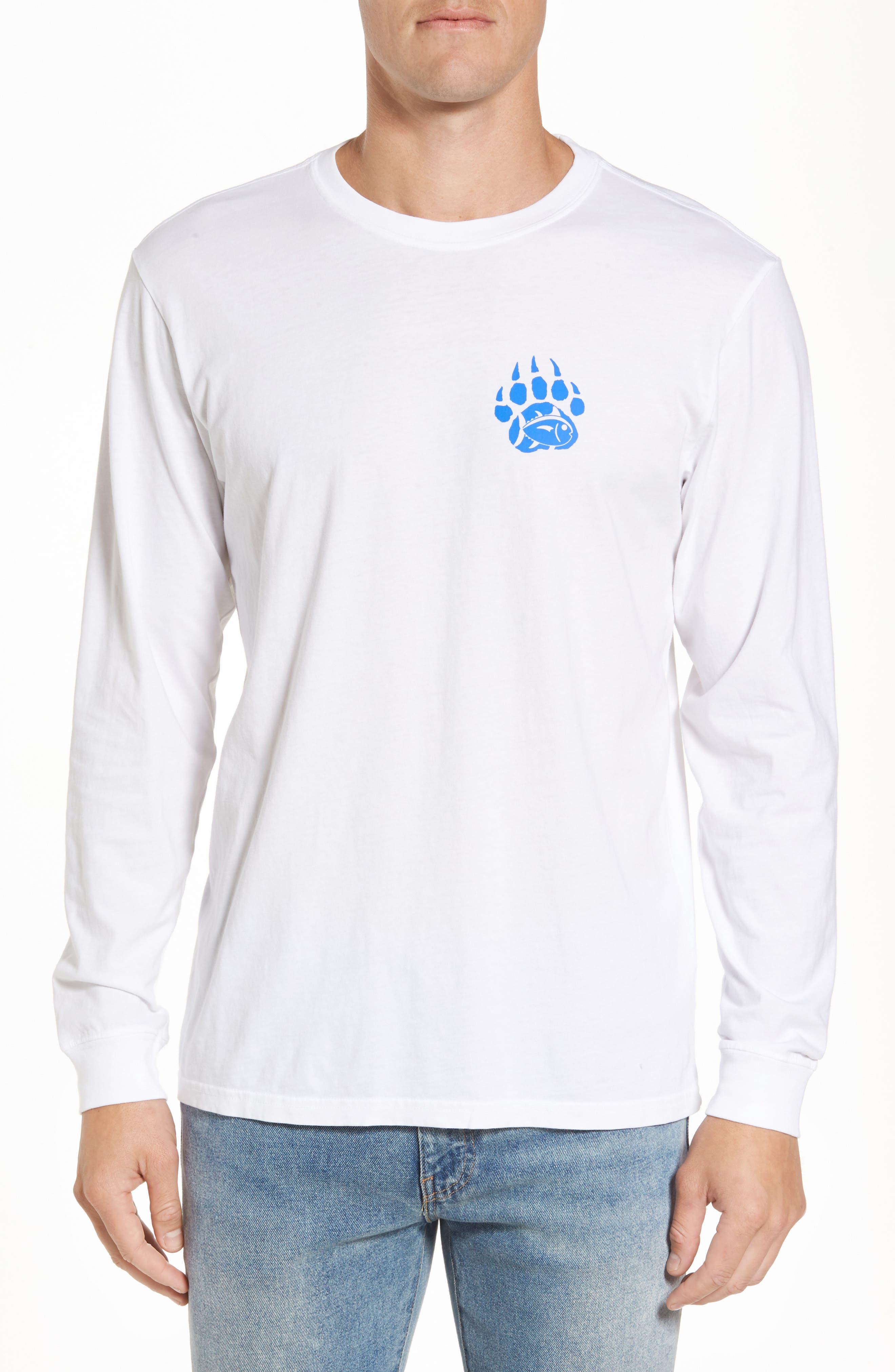 Blue Ridge Bear T-Shirt,                         Main,                         color, Classic White