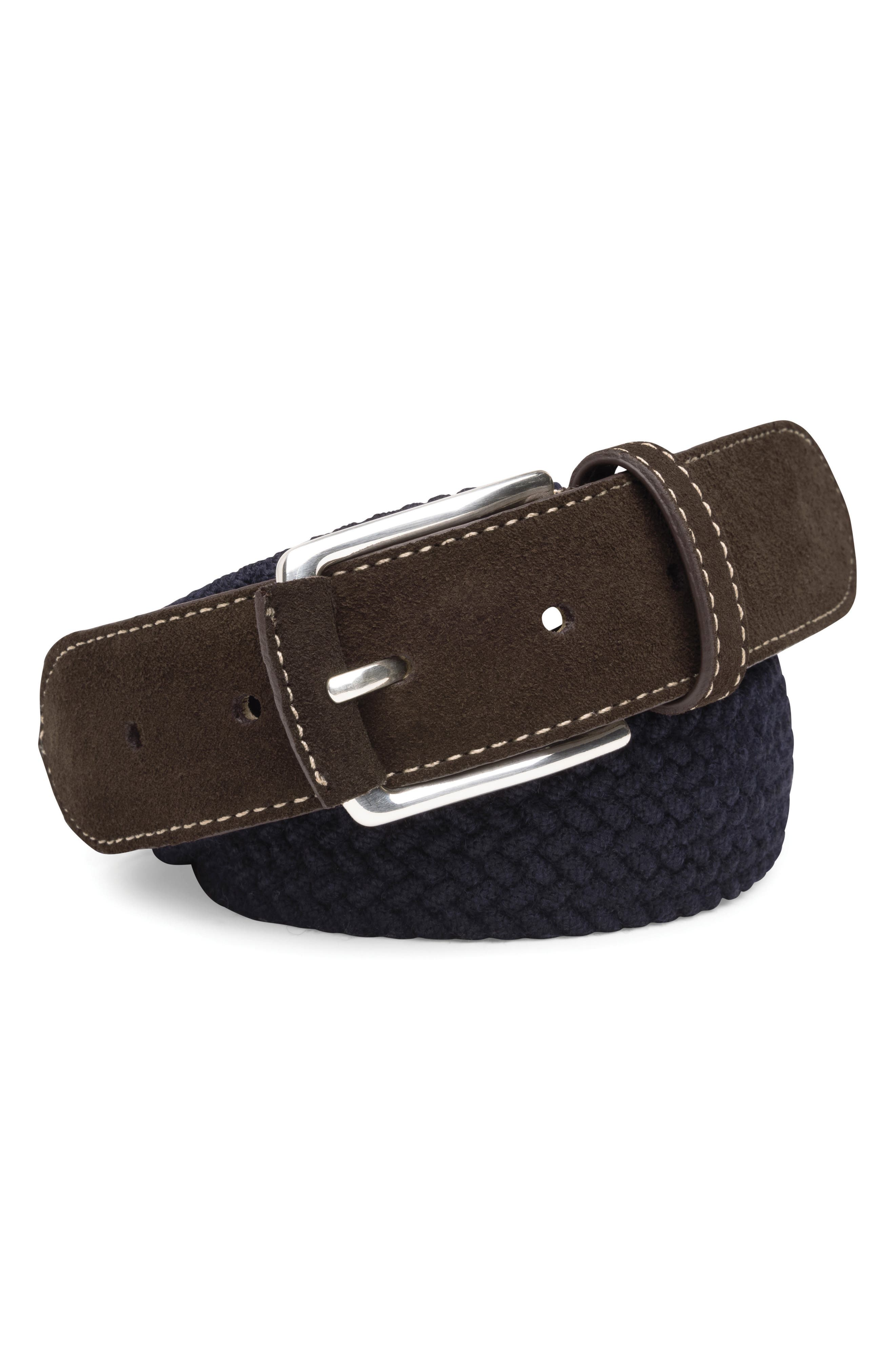 Alternate Image 1 Selected - Peter Millar Braided Wool Belt