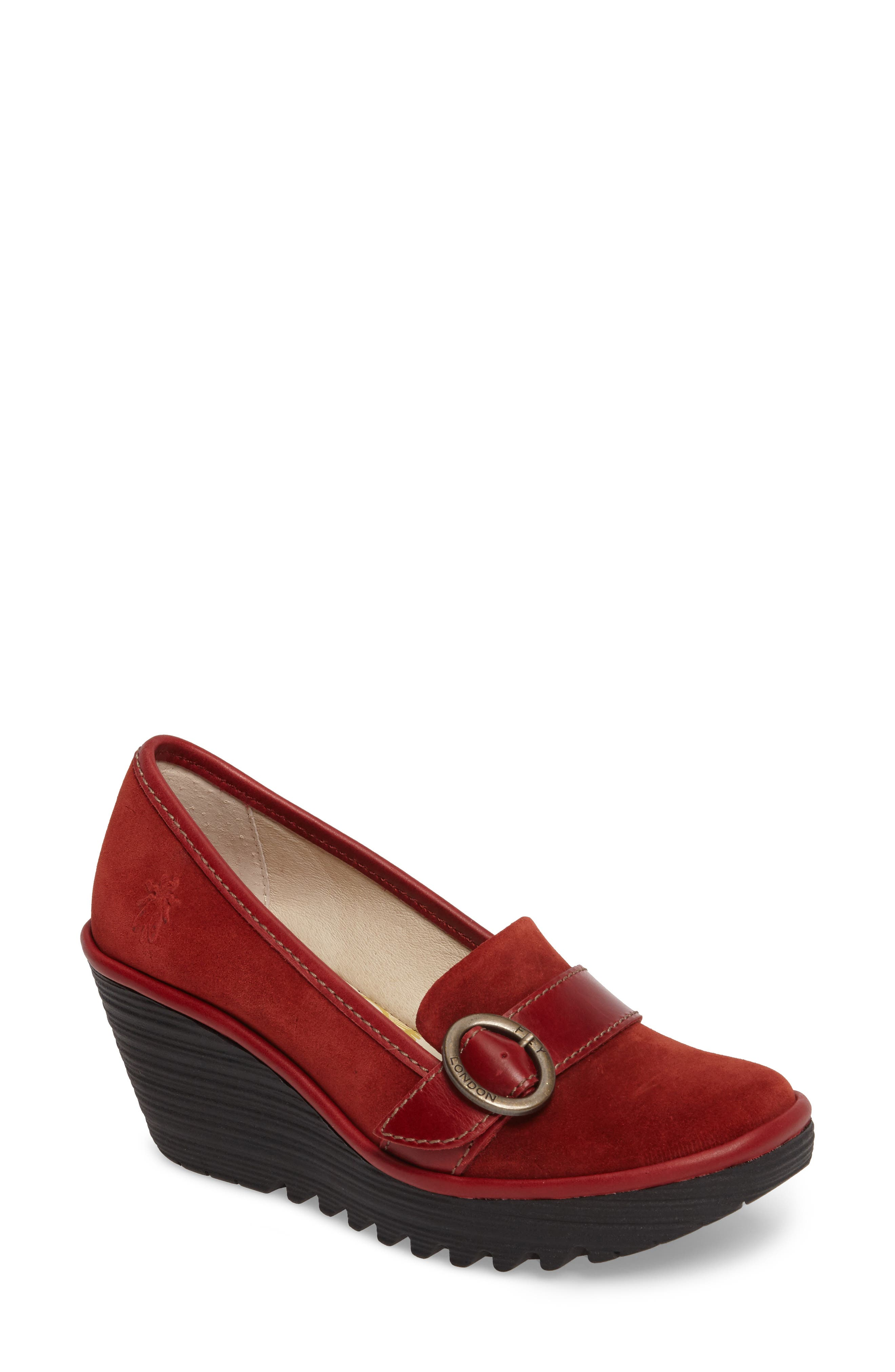 Alternate Image 1 Selected - Fly London Yond Wedge (Women)