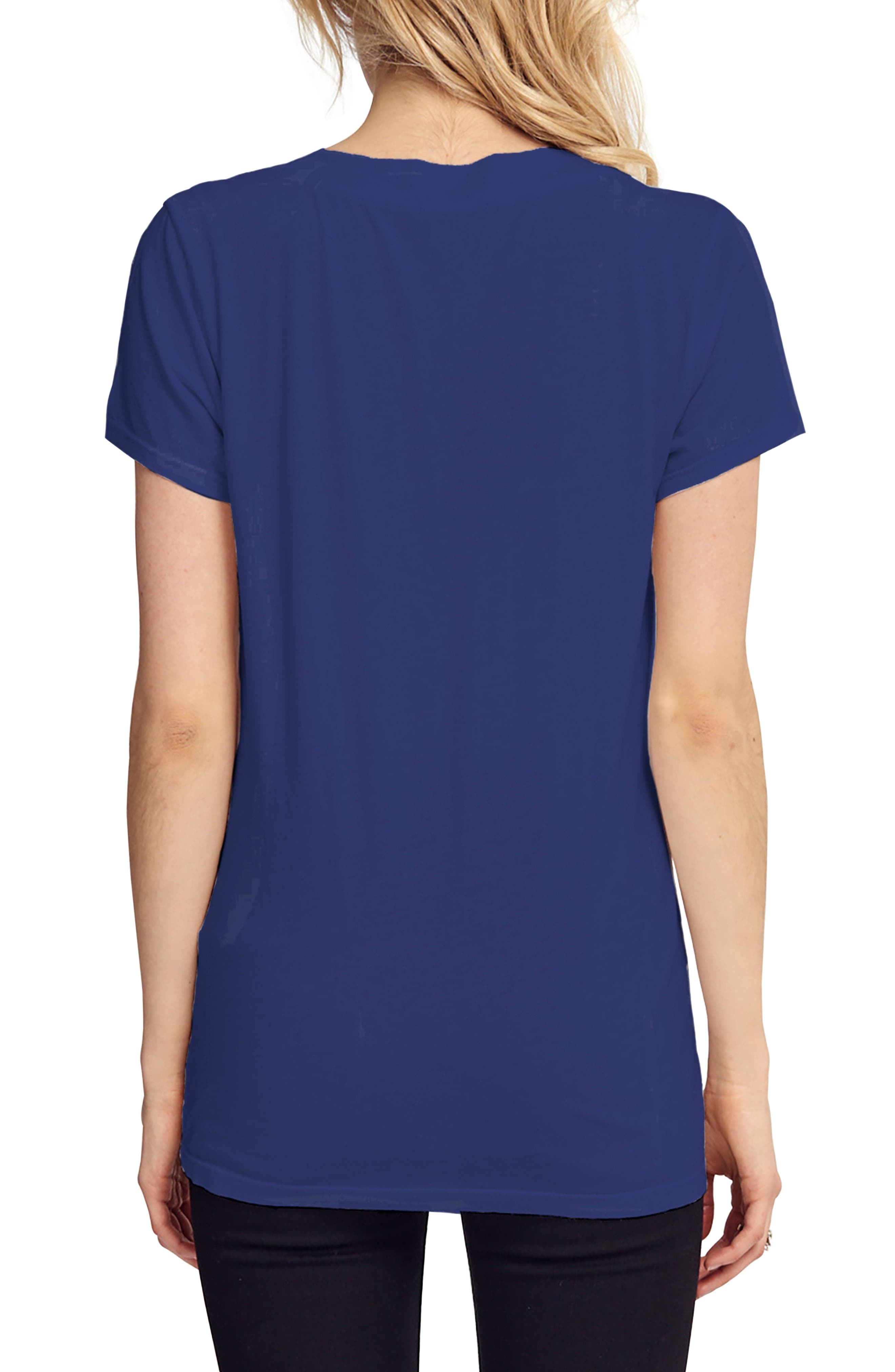 Alternate Image 2  - LAmade V-Neck Boyfriend Tee