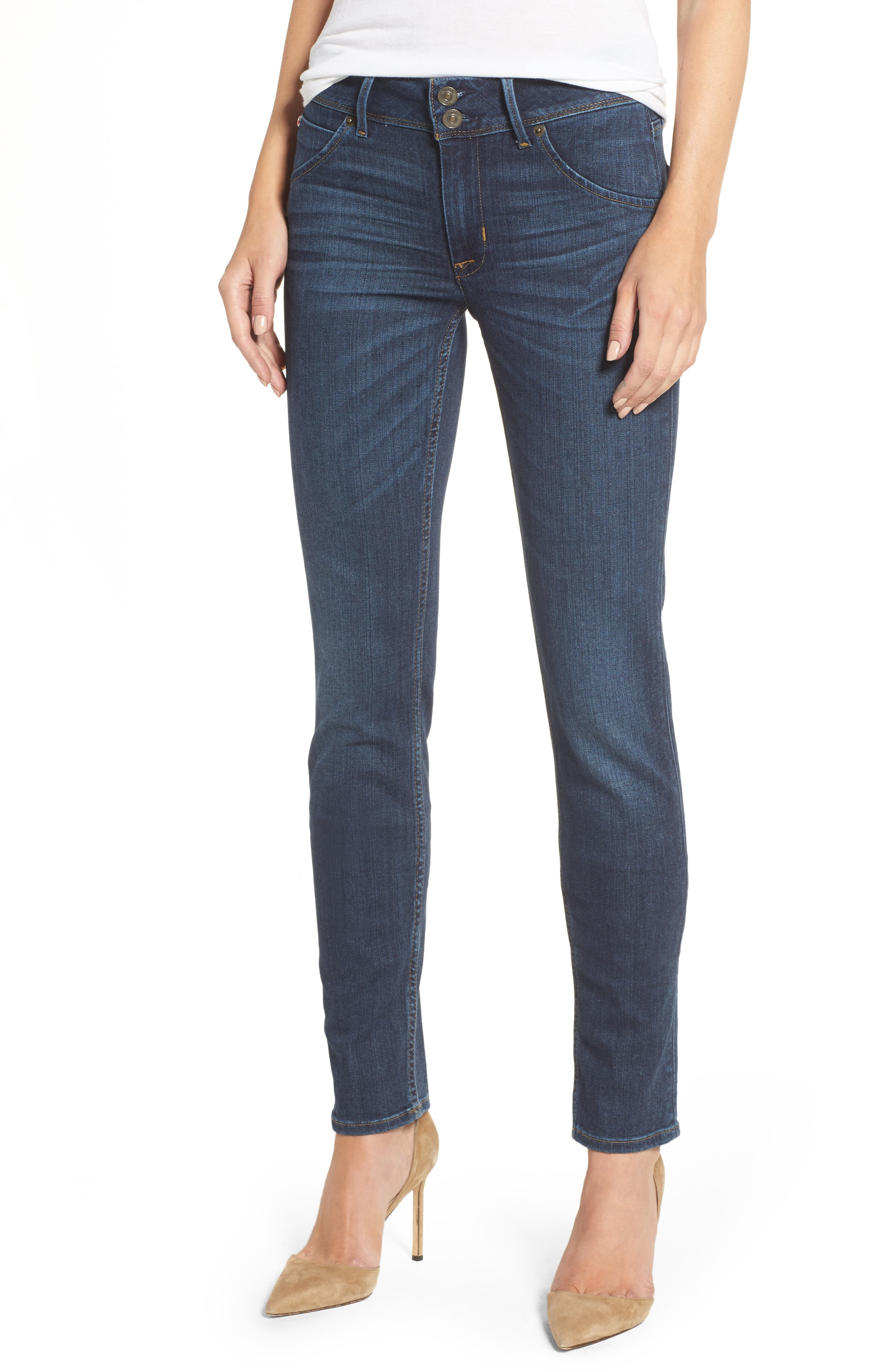 Main Image - Hudson Jeans Collin Supermodel Skinny Jeans (Spellbound)