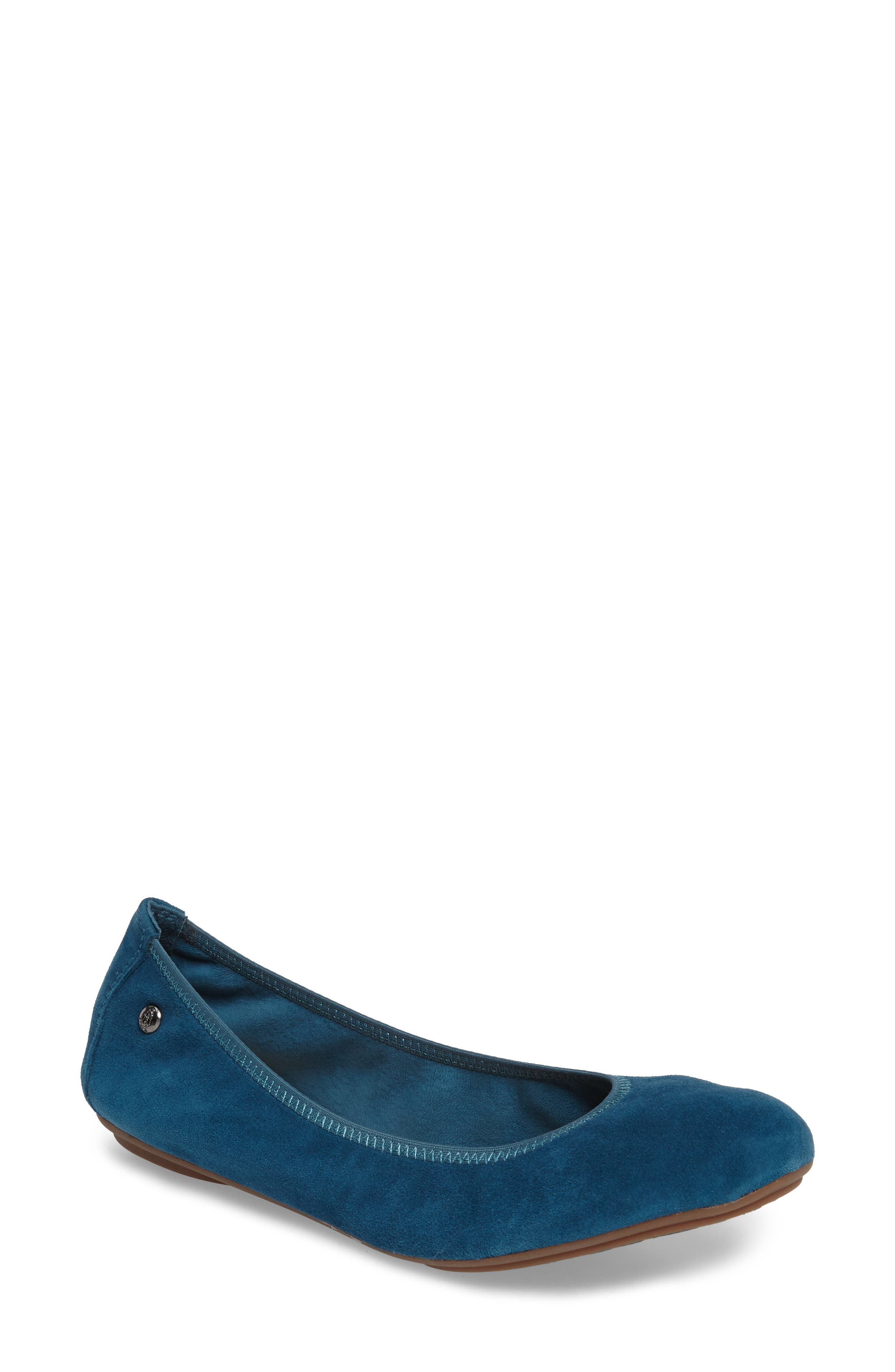 Alternate Image 1 Selected - Hush Puppies® 'Chaste' Ballet Flat (Women)