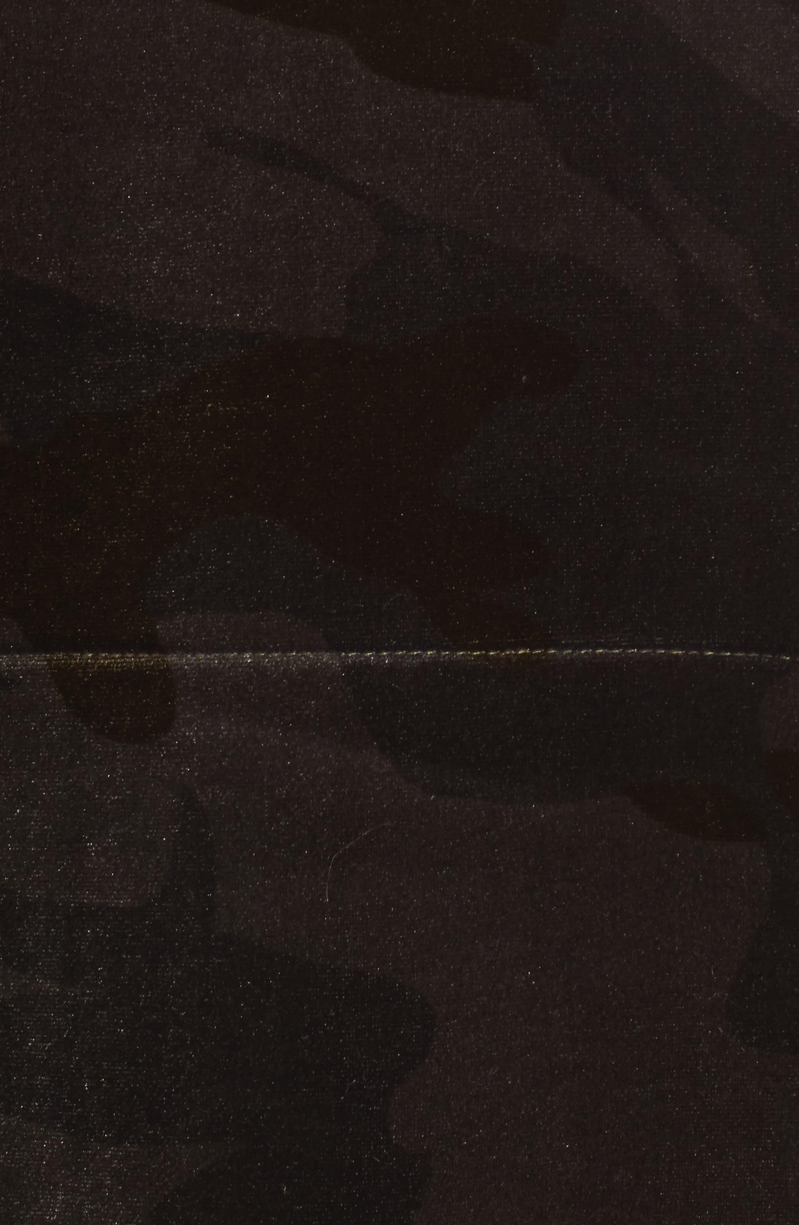 Alternate Image 5  - Members Only Velvet Bomber Jacket