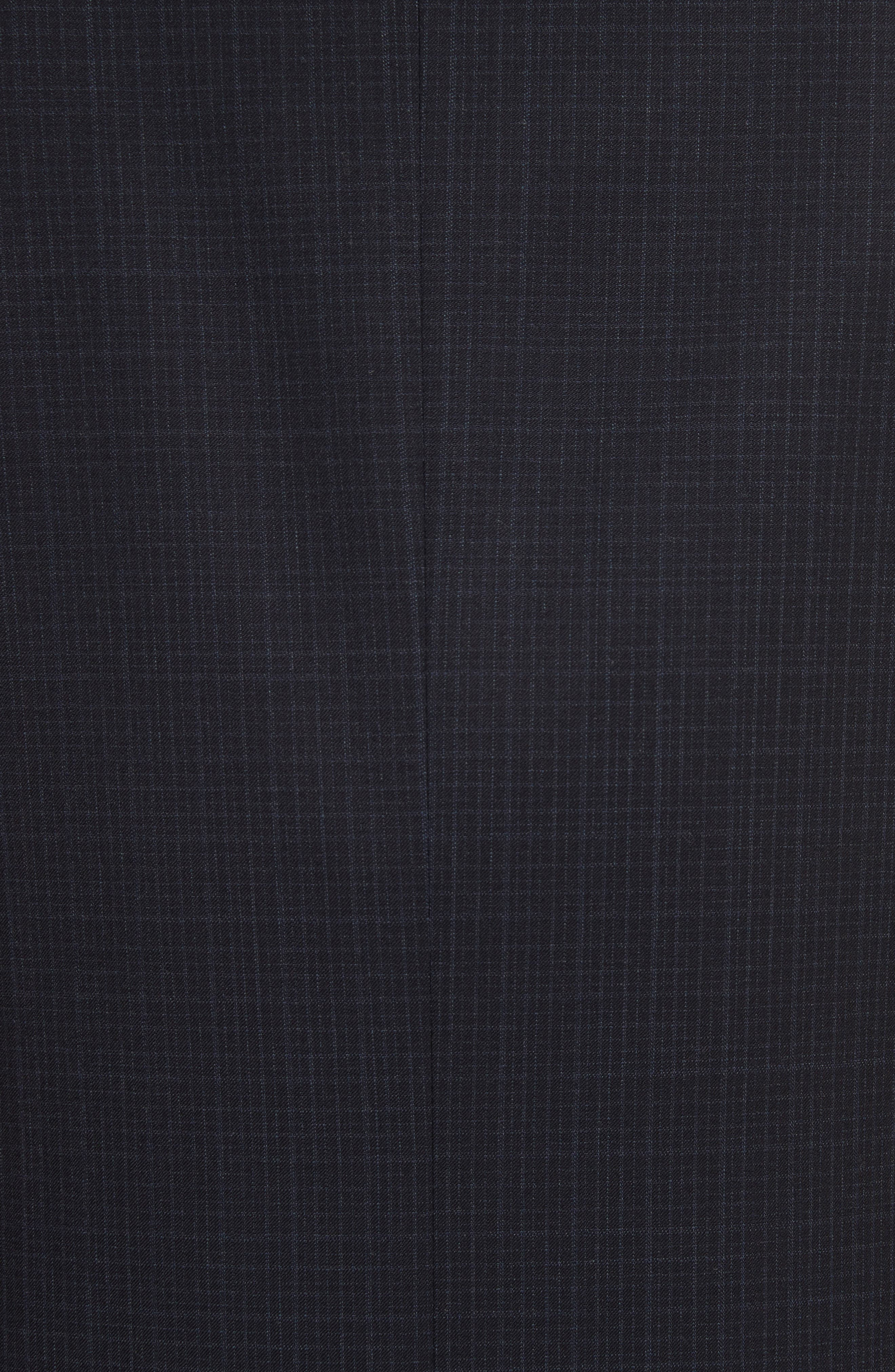 Alternate Image 7  - Canali Classic Fit Check Wool Suit
