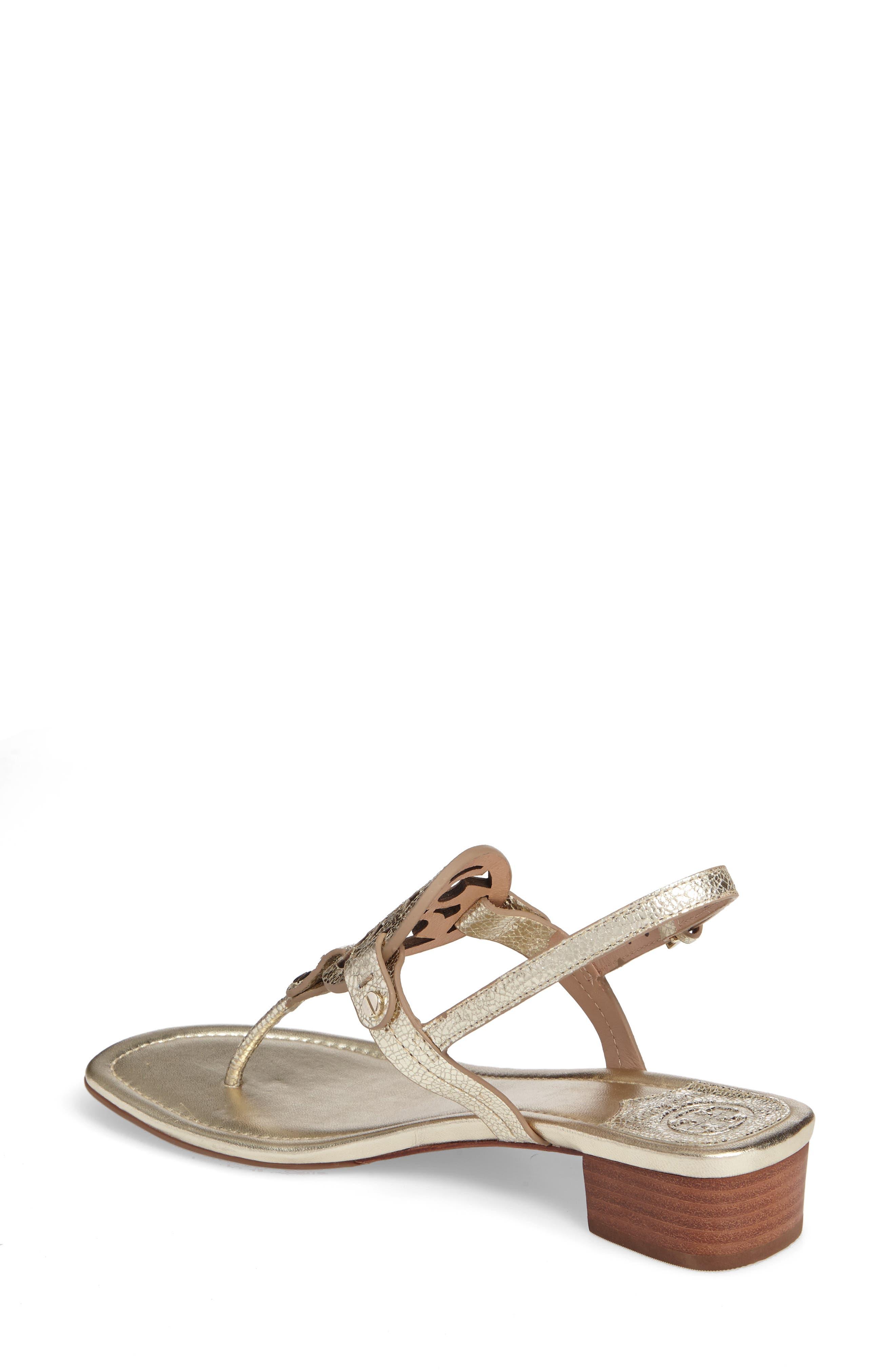 Alternate Image 2  - Tory Burch Miller Logo Sandal (Women)