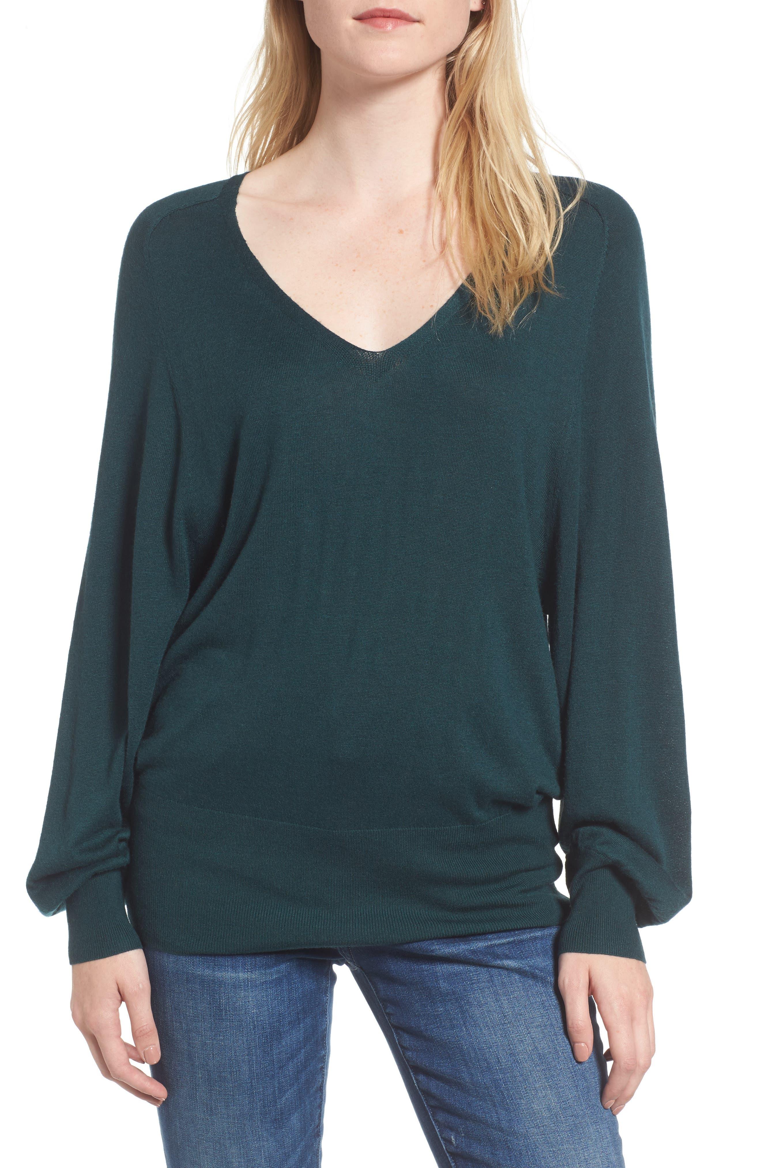 Splendid Harrow Blouson Sweater