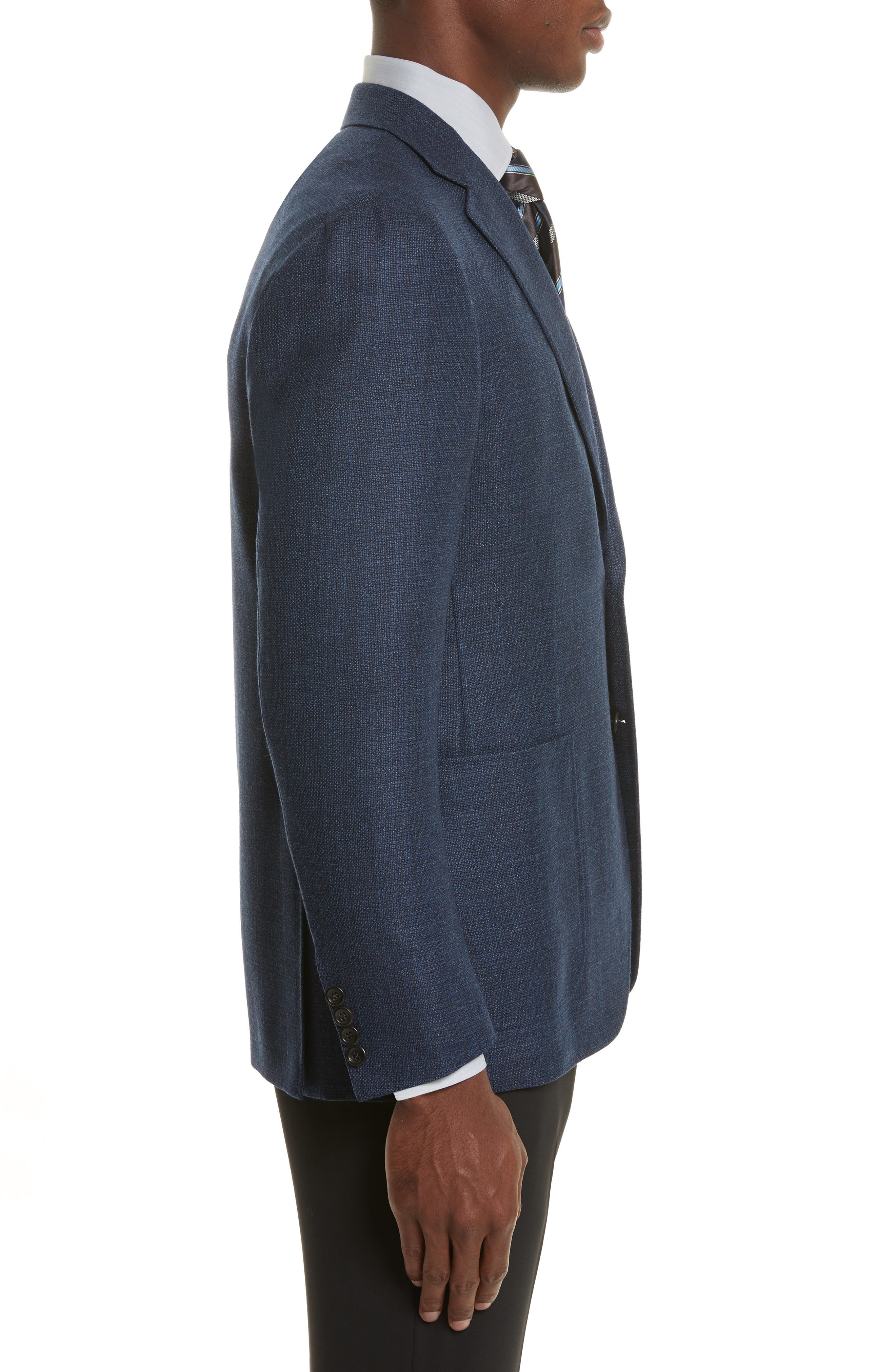 Alternate Image 3  - Canali Kei Classic Fit Wool Blazer