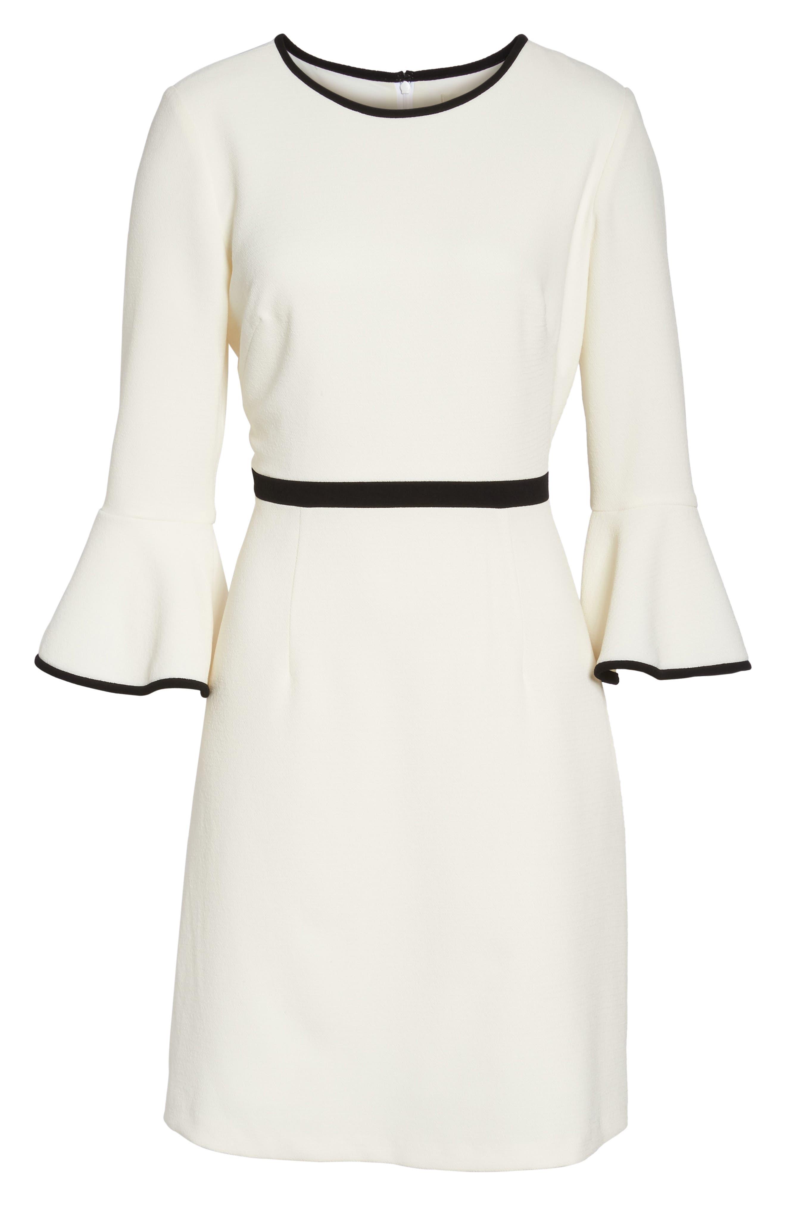 Alternate Image 7  - Eliza J Fit & Flare Dress (Regular & Petite)