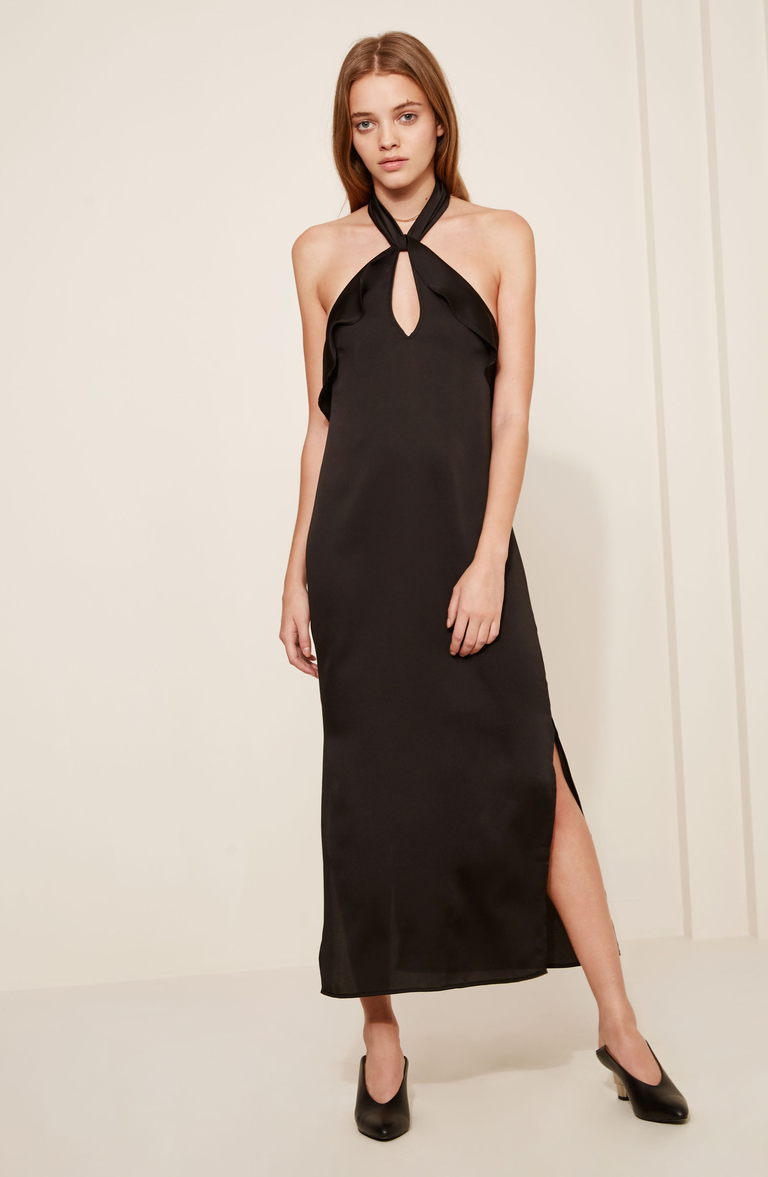 Alternate Image 2  - The Fifth Label Lola Ruffle Halter Dress