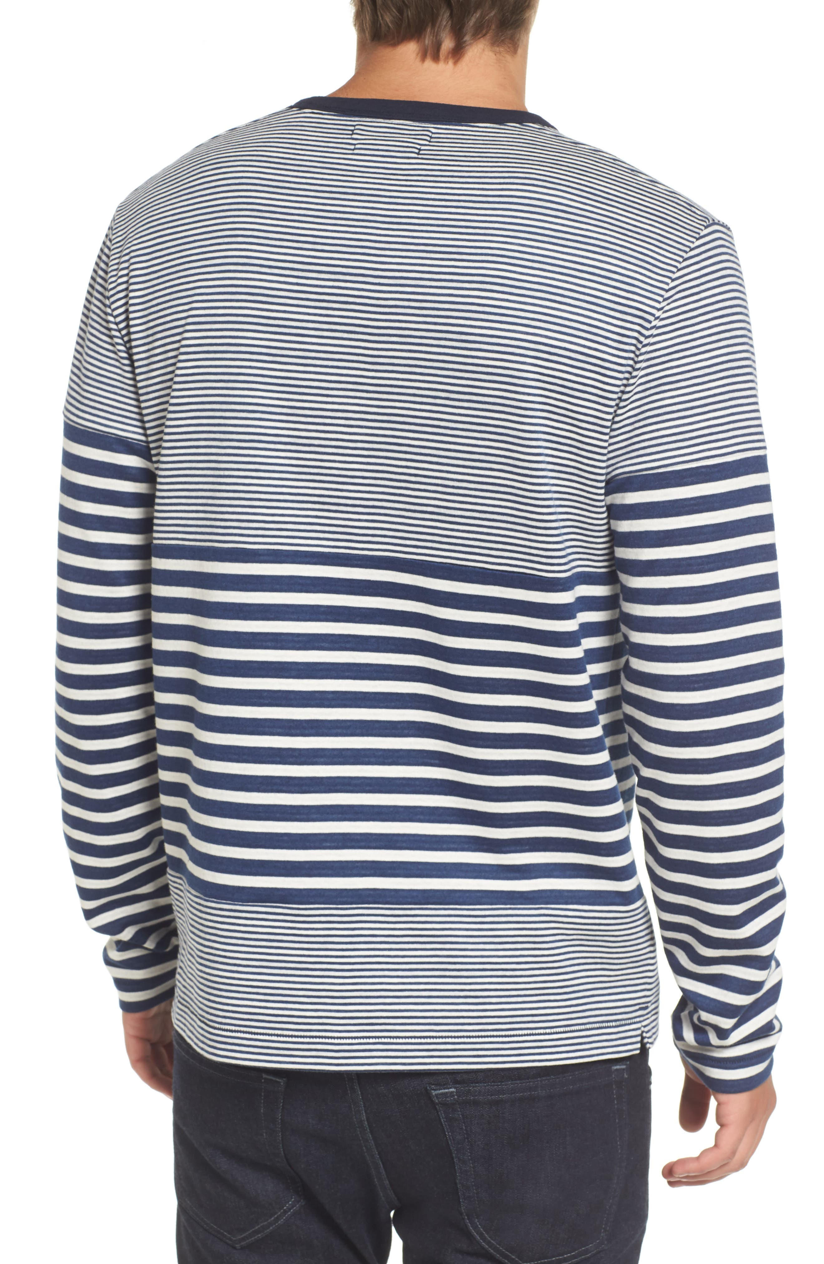 Alternate Image 2  - French Connection Stripe Long Sleeve T-Shirt