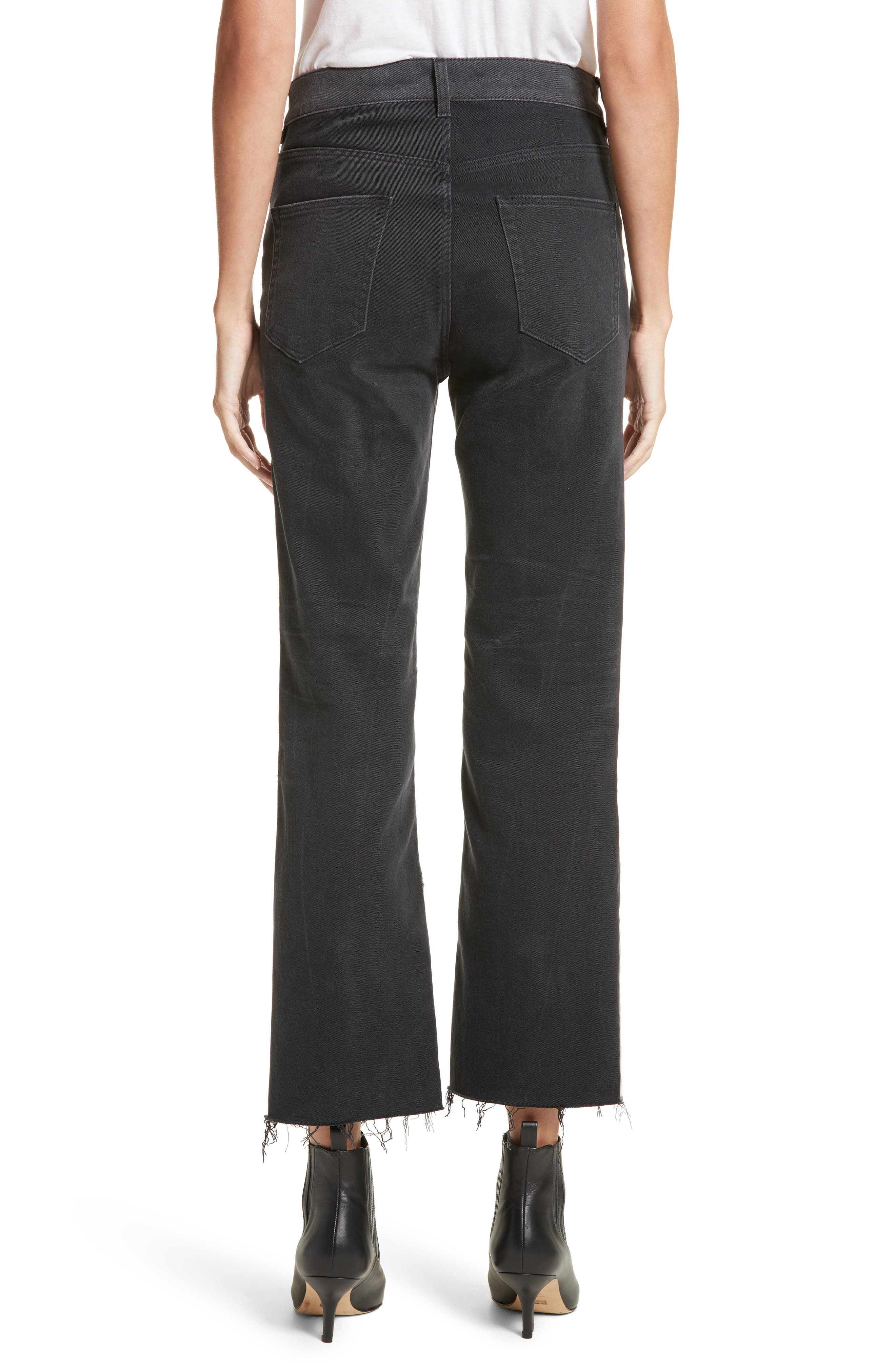 Alternate Image 3  - La Vie Rebecca Taylor Patch Jeans
