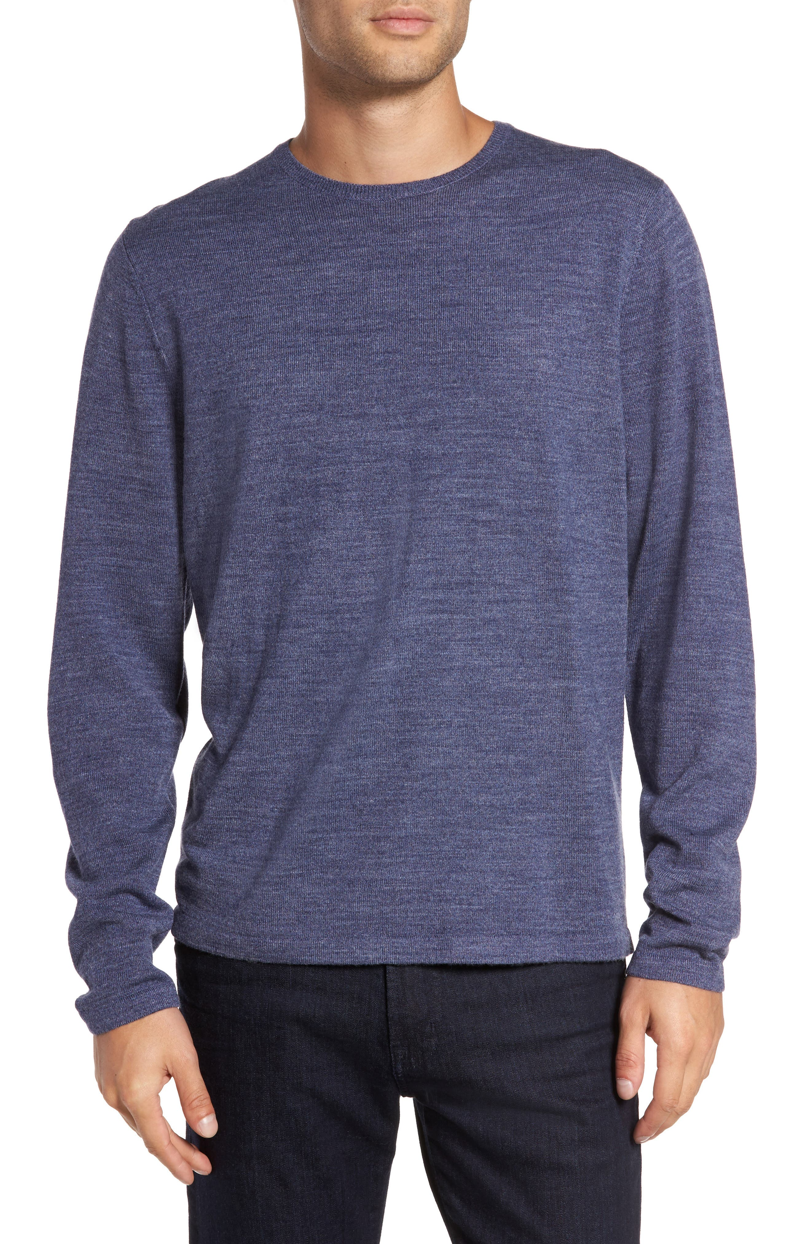 Main Image - Calibrate Merino Blend Crewneck Sweater
