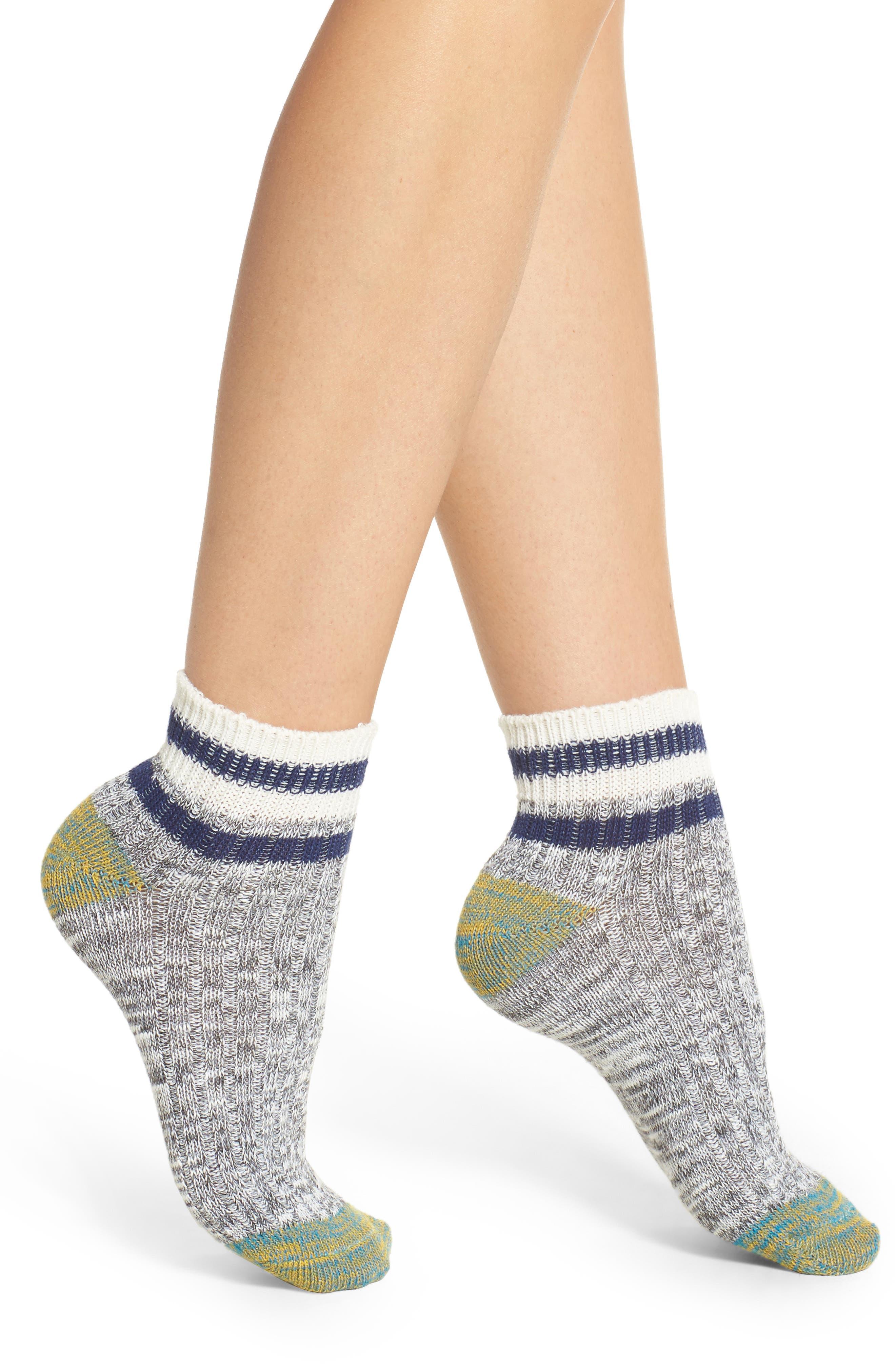 Main Image - Free People Bailey Ankle Socks