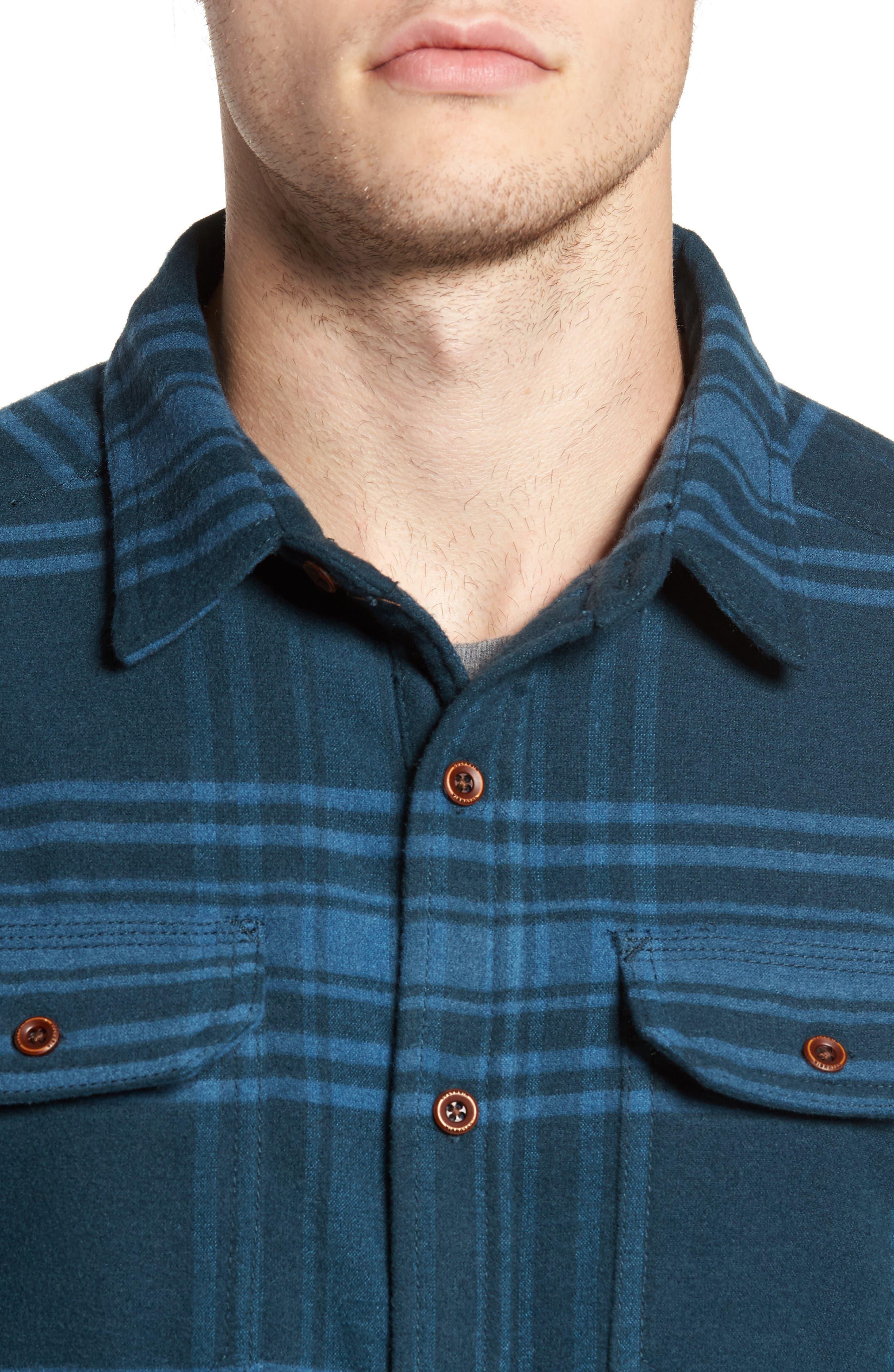 Alternate Image 4  - Columbia Deschutes River™ Heavyweight Flannel Shirt Jacket