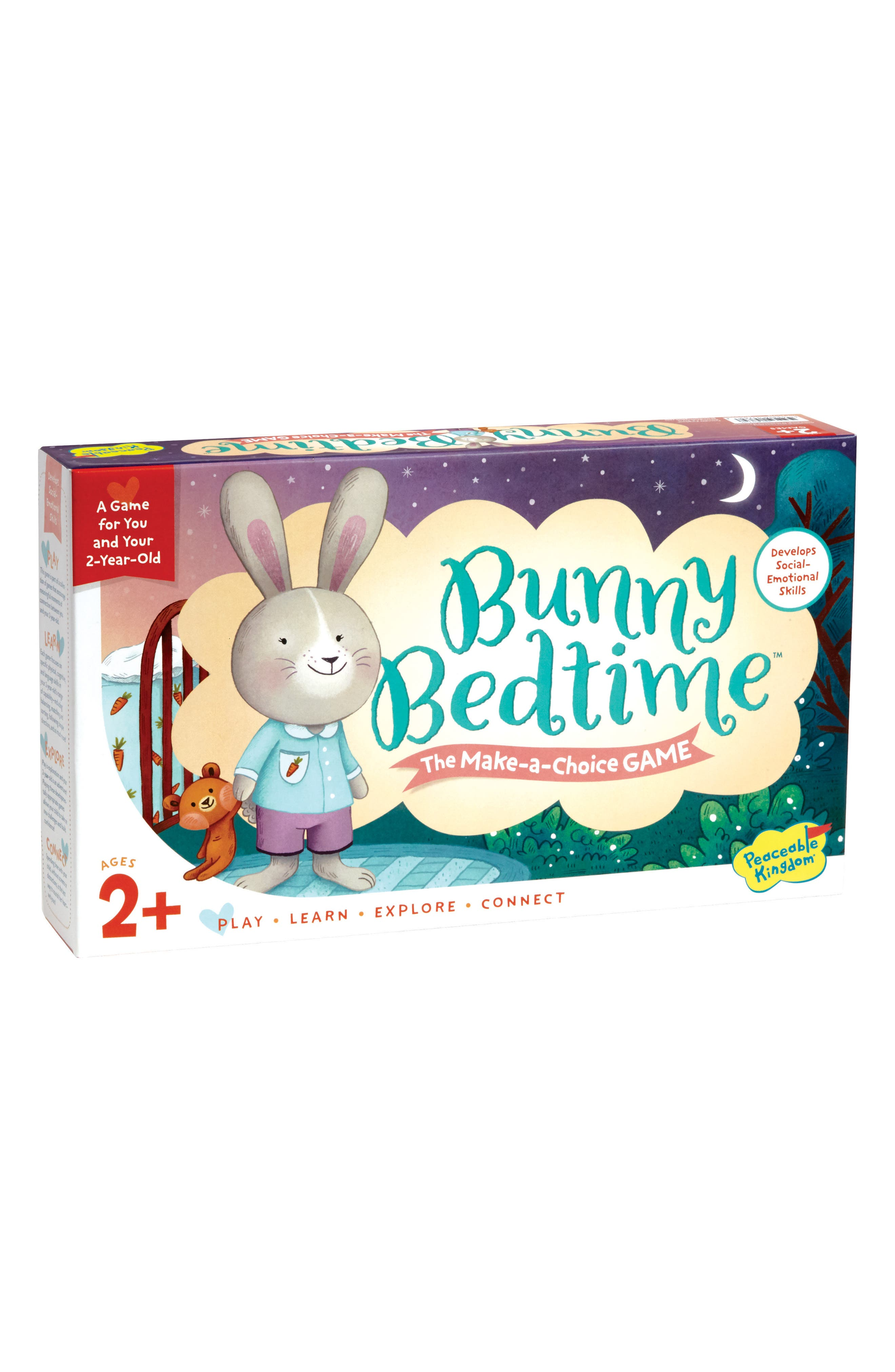 Peaceable Kingdom Bunny Bedtime Cooperative Board Game