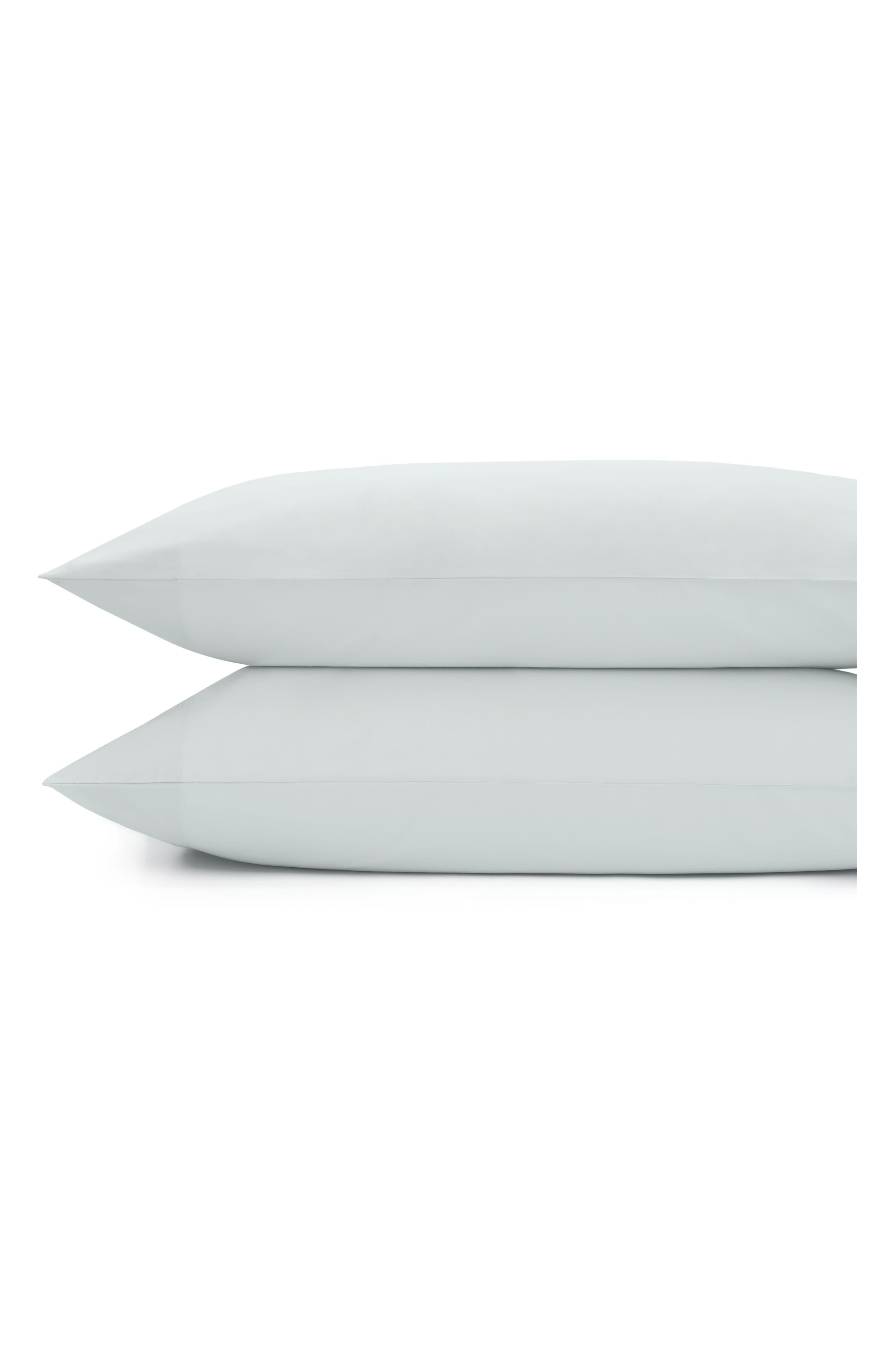Downtime Pillowcases,                         Main,                         color, Ocean Mist