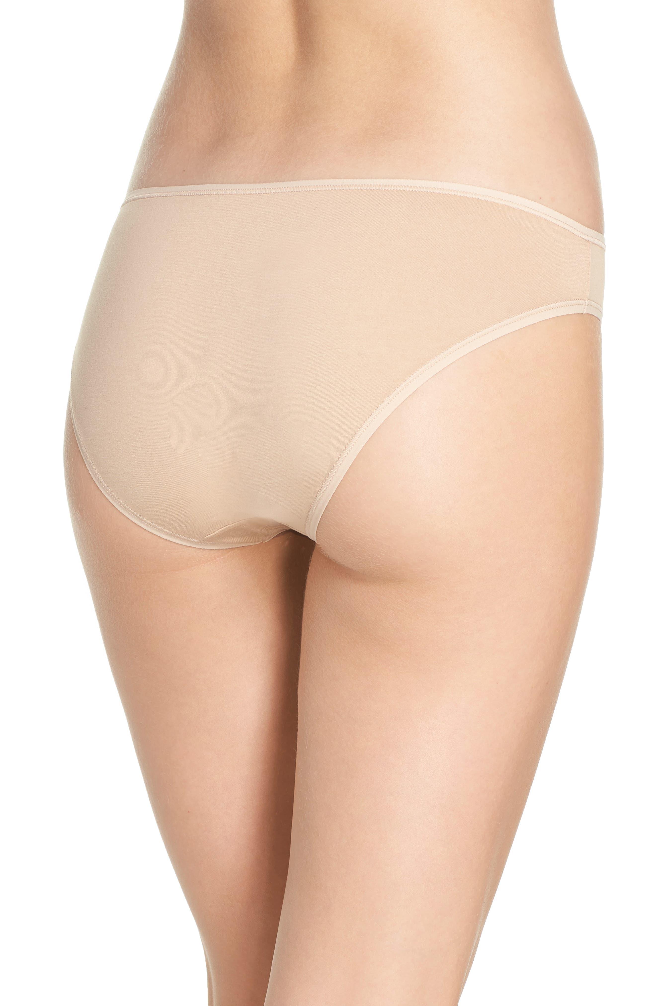 Alternate Image 2  - Calvin Klein Form Bikini (3 for $33)