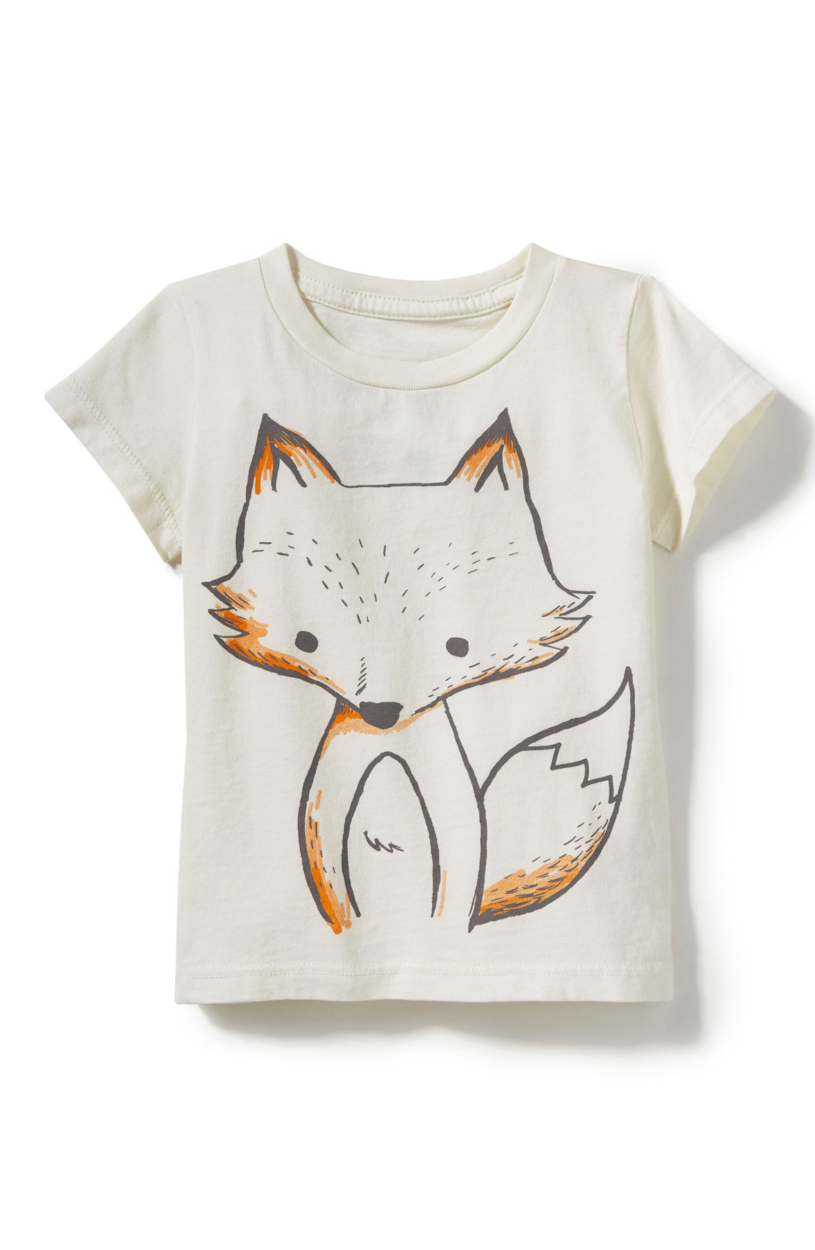 Peek Baby Fox Graphic T-Shirt (Baby Boys)
