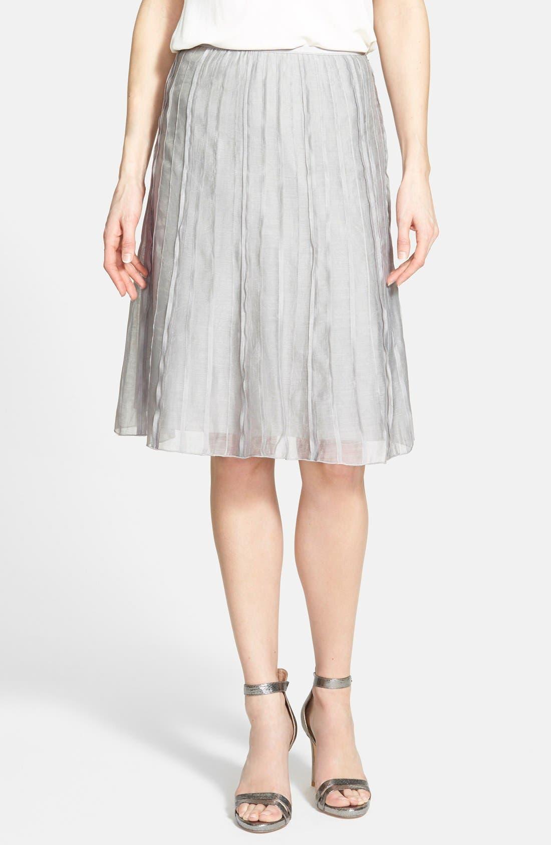 Alternate Image 1 Selected - NIC+ZOE 'Batiste Flirt' Skirt (Regular & Petite)