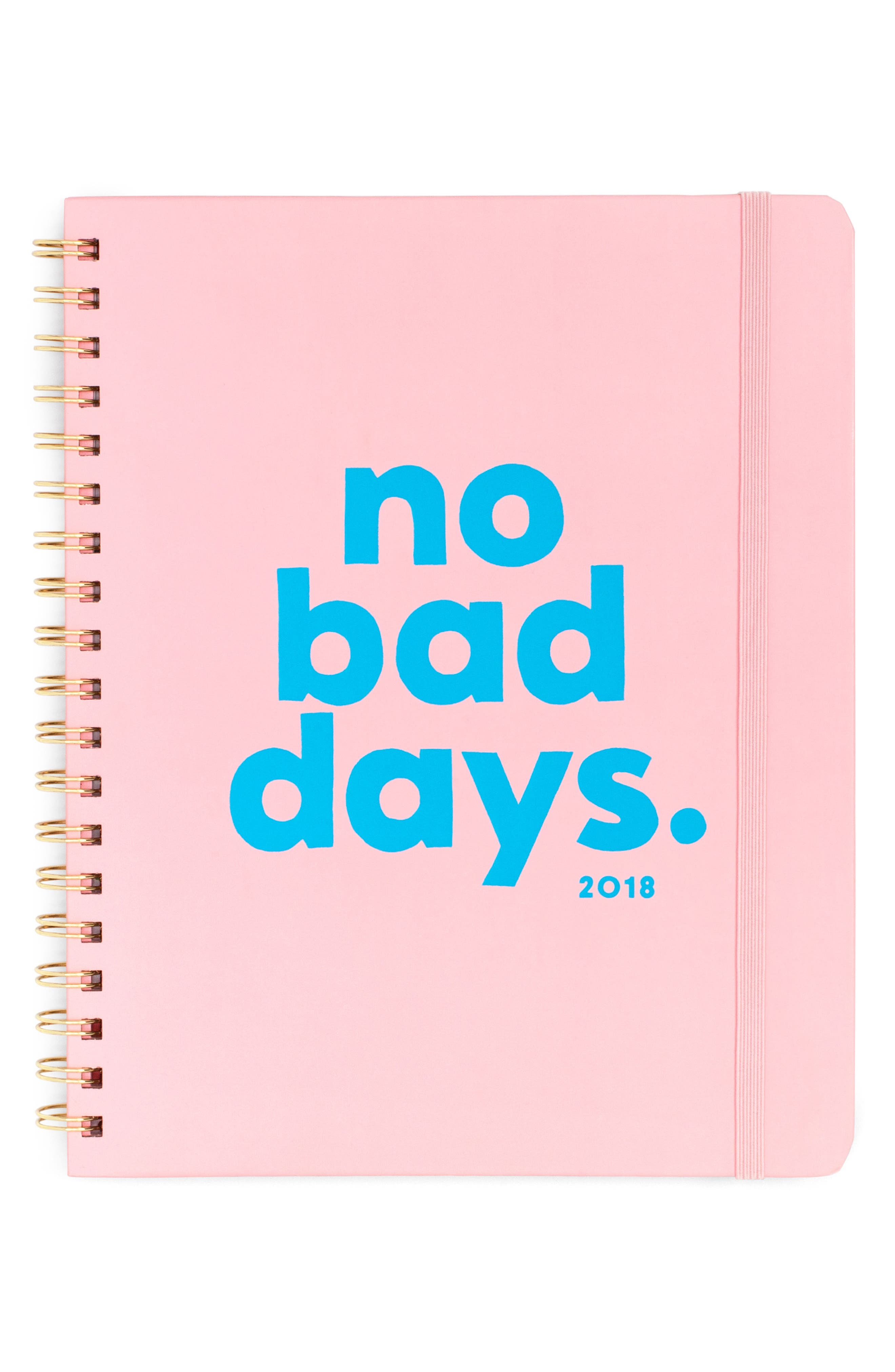 No Bad Days 2018 12-Month Planner,                         Main,                         color, No Bad Days