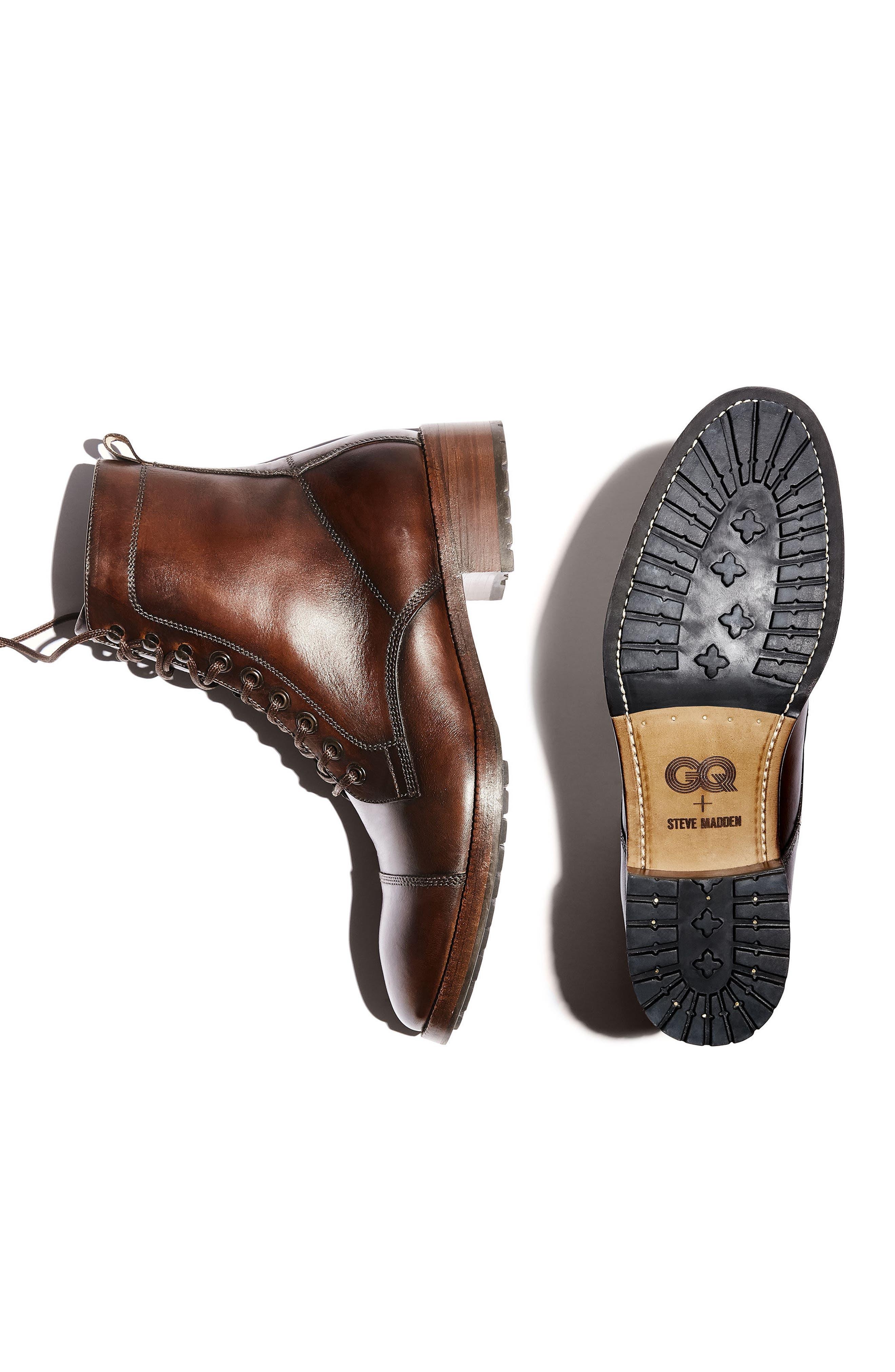 Alternate Image 2  - Steve Madden x GQ Ted Cap Toe Boot (Men)