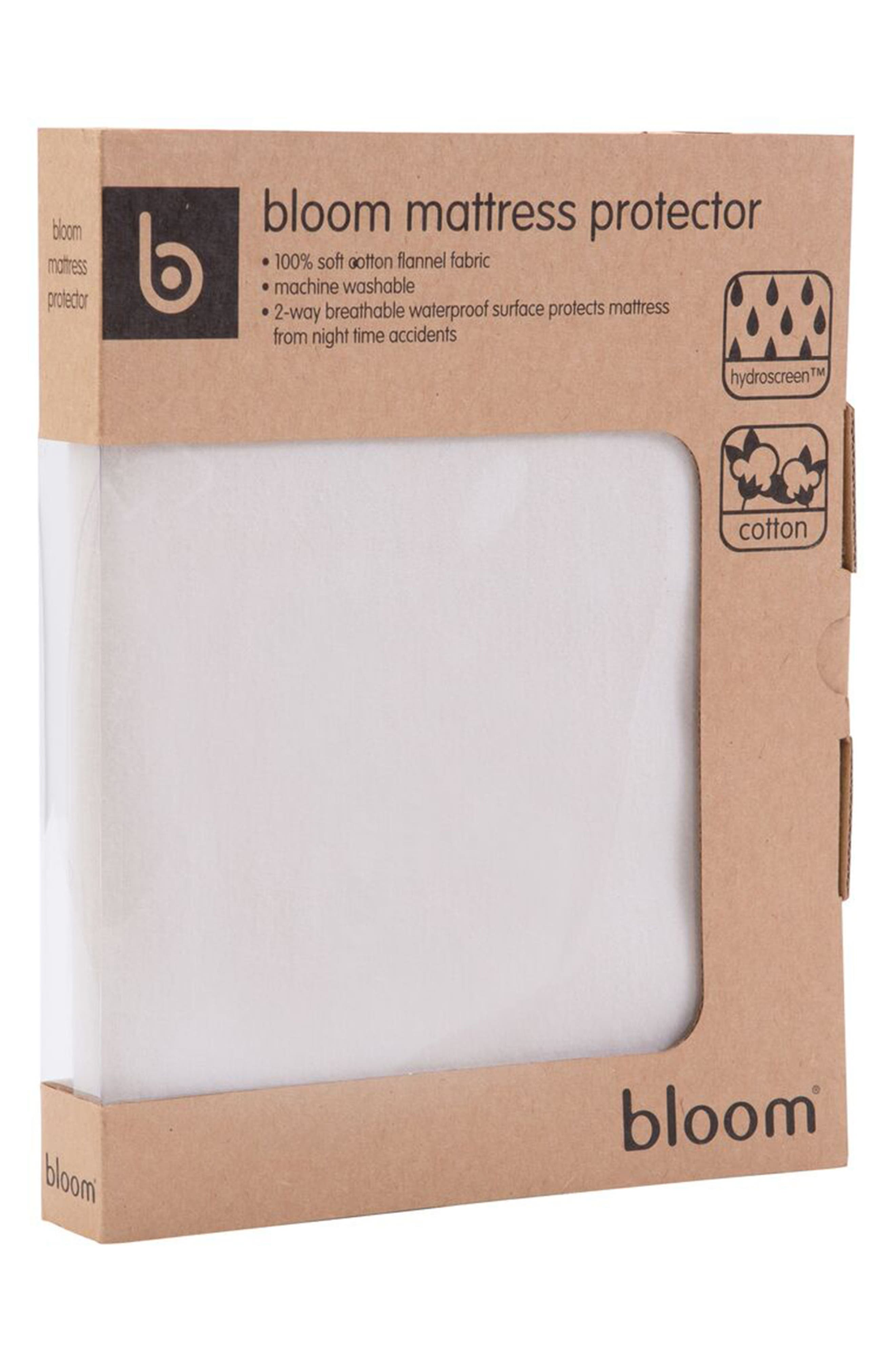Alternate Image 2  - bloom Baby Mattress Protector Pad for Alma Mini Crib
