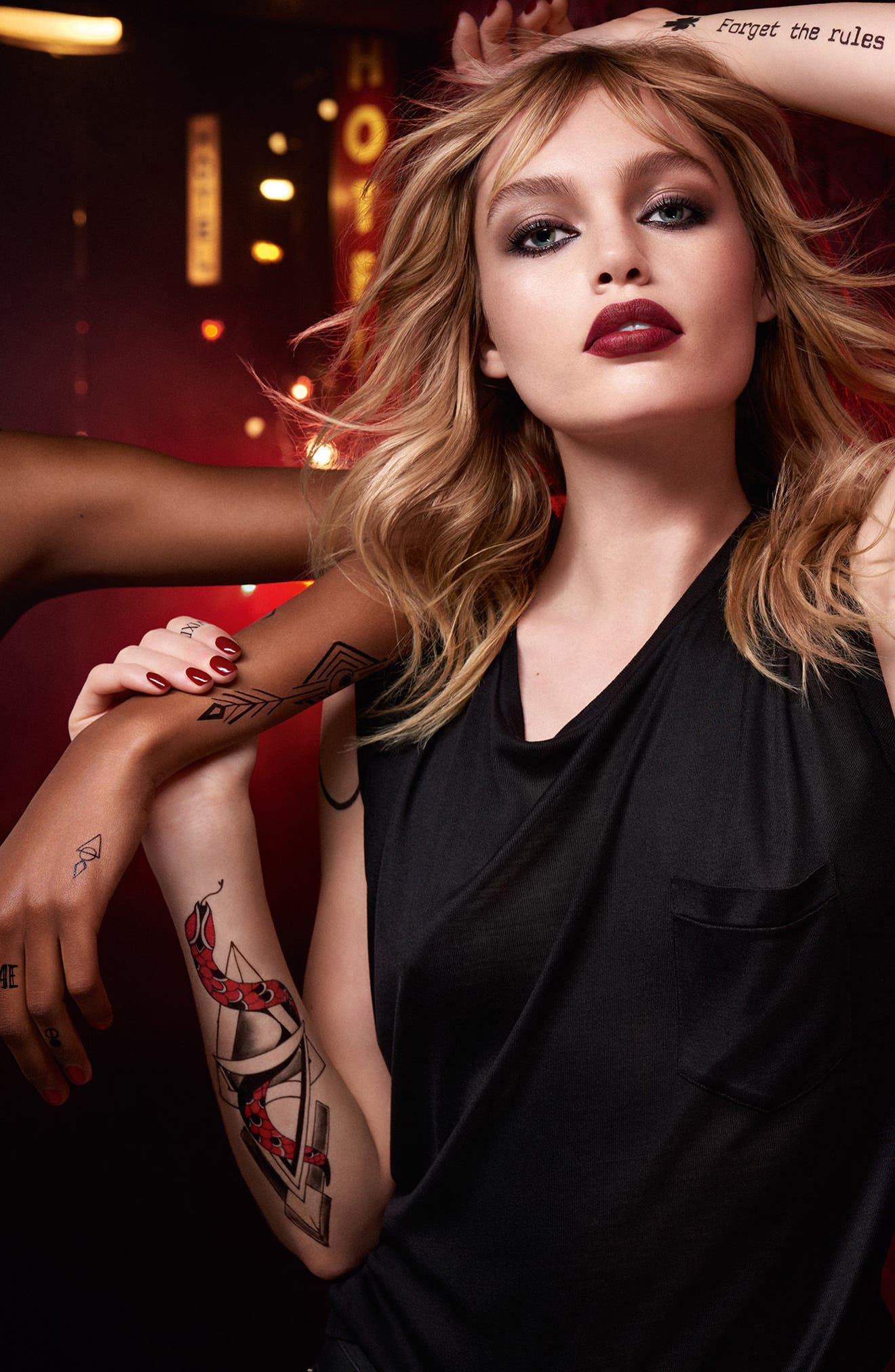 Alternate Image 6  - Yves Saint Laurent Tatouage Couture Liquid Matte Lip Stain