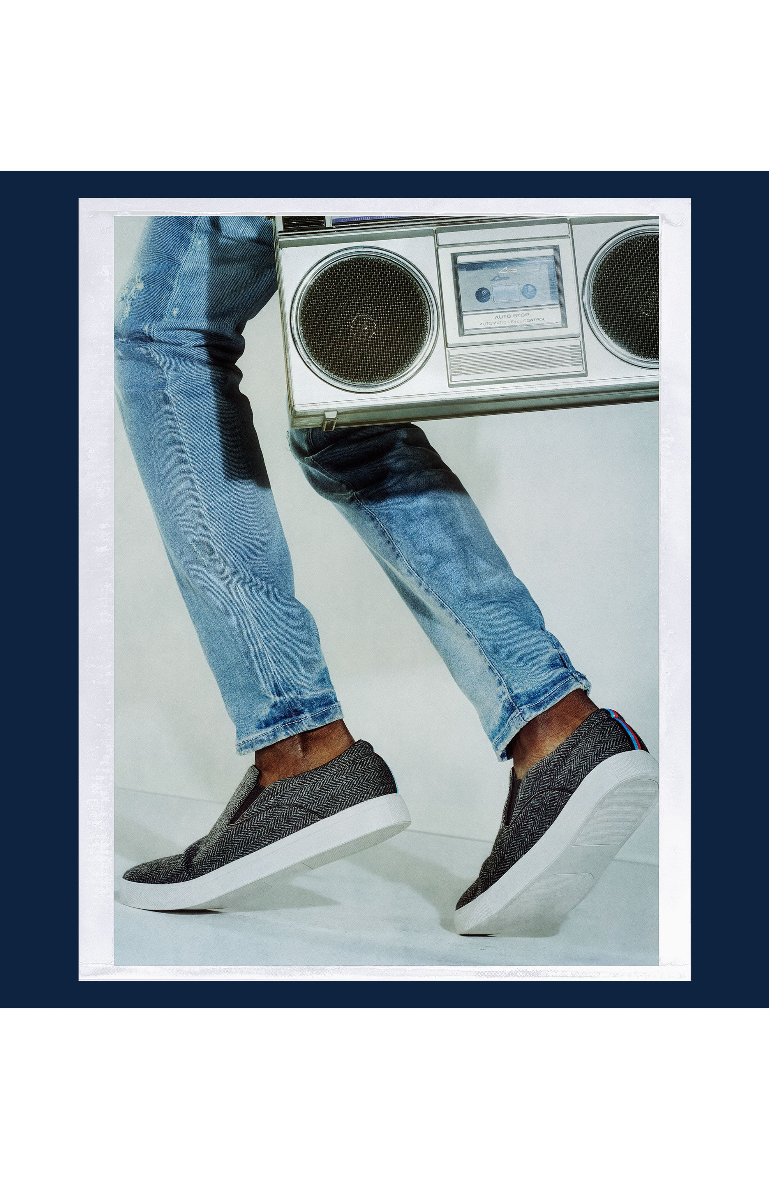 Alternate Image 8  - Steve Madden x GQ Garrit Slip-On (Men)
