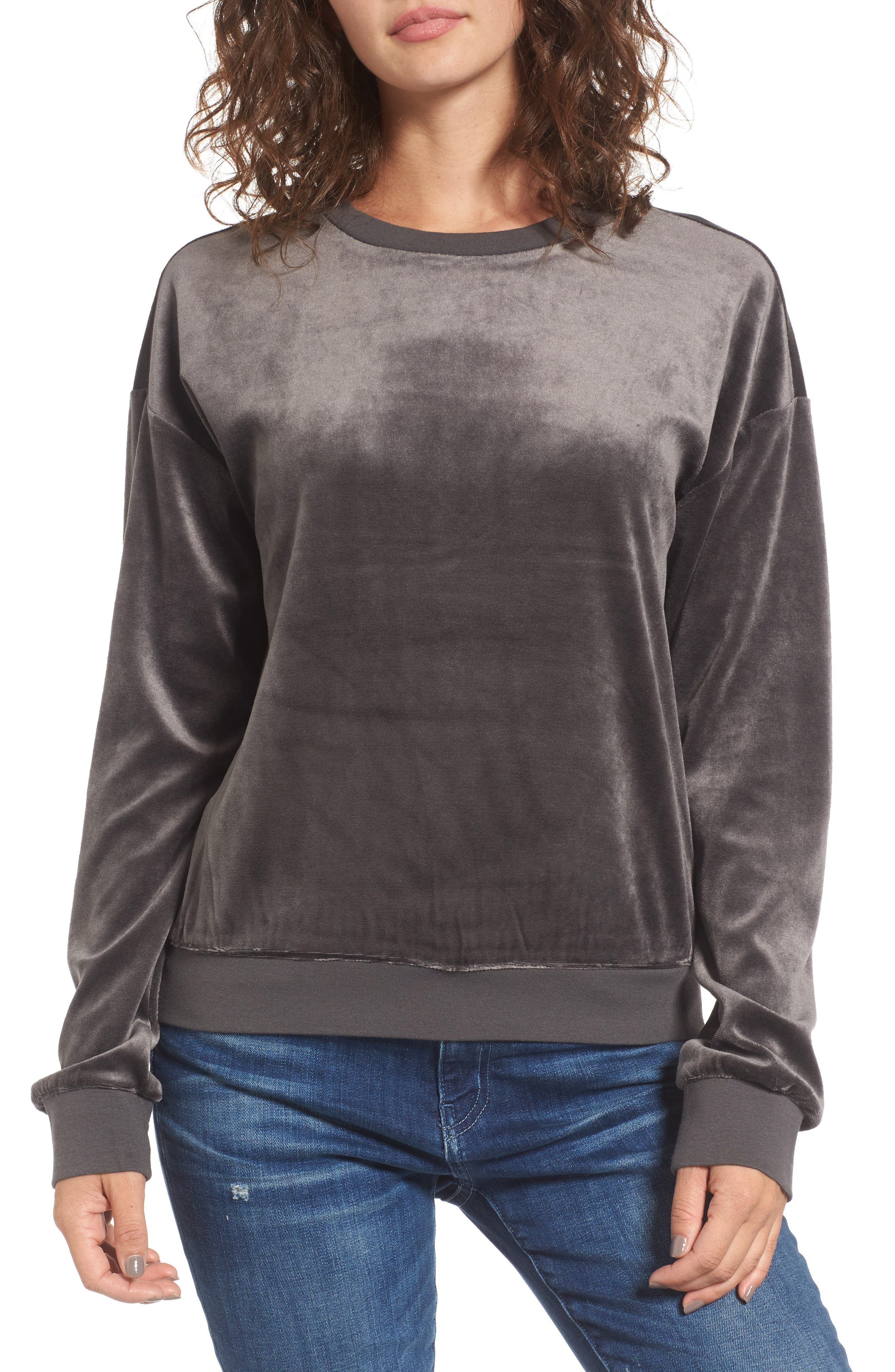Main Image - Juicy Couture Velour Pullover