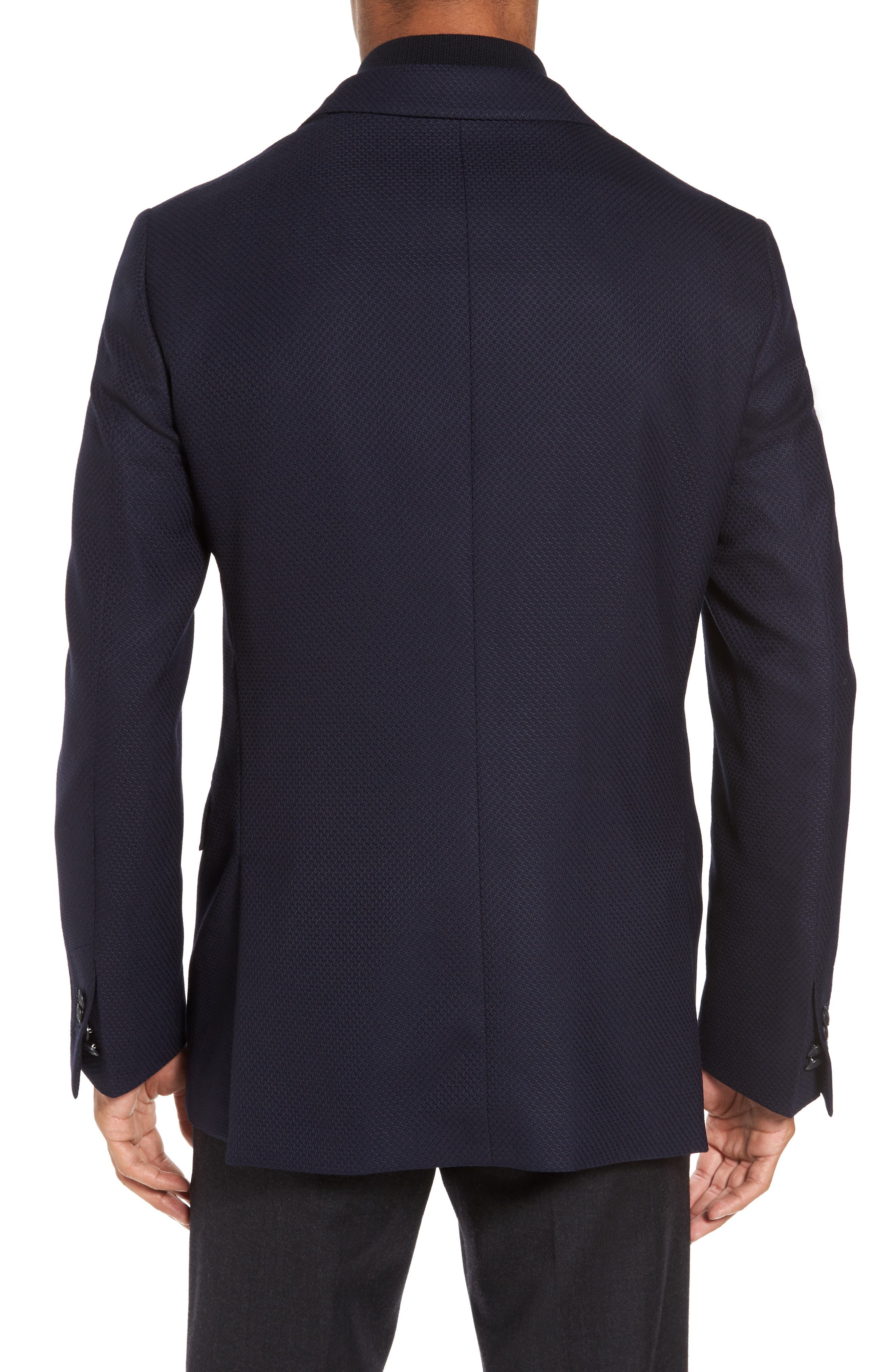 ID Classic Fit Wool Jacket,                             Alternate thumbnail 3, color,                             Ink