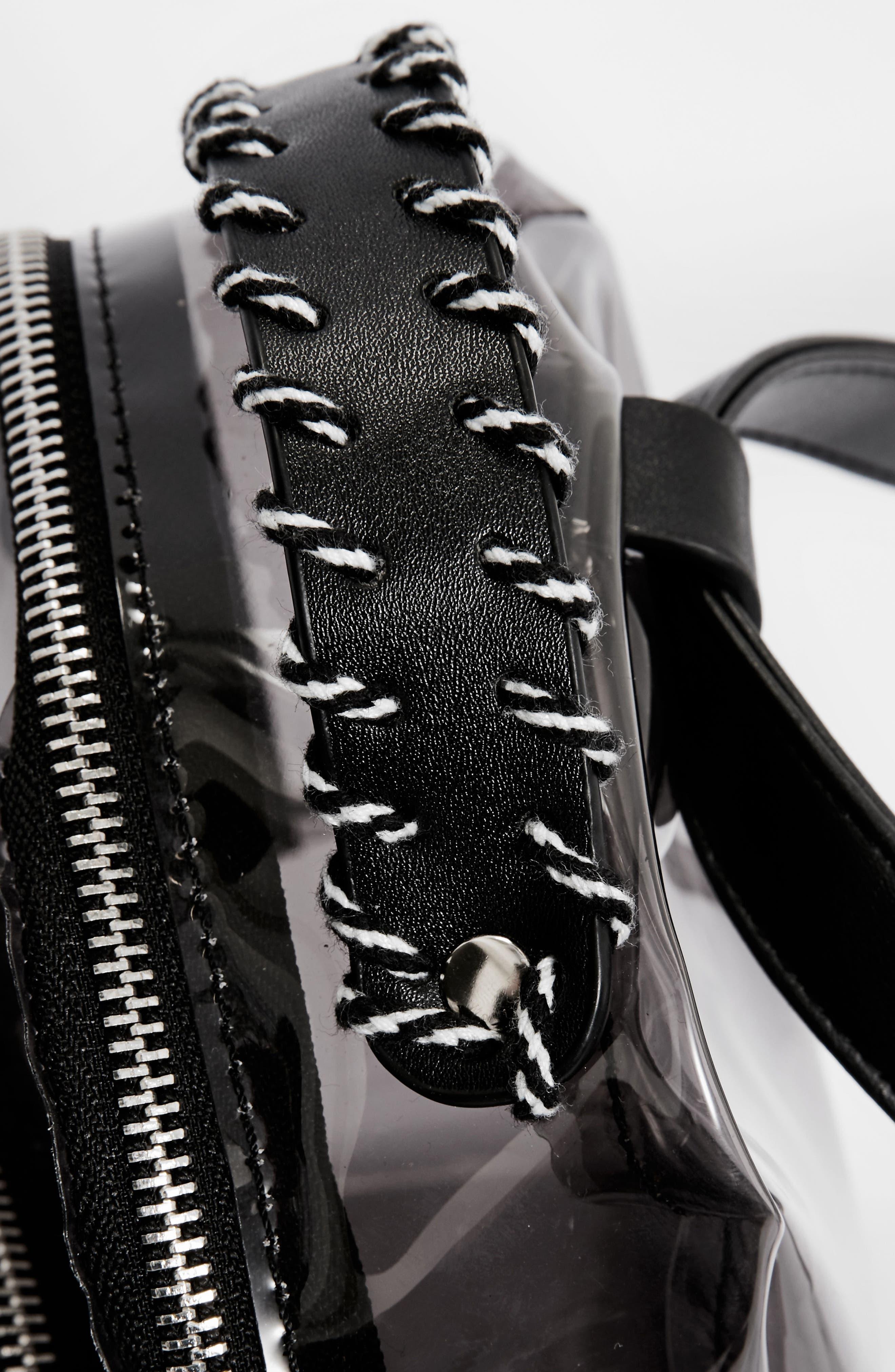 Perspex<sup>®</sup> Mini Backpack,                             Alternate thumbnail 4, color,                             Black