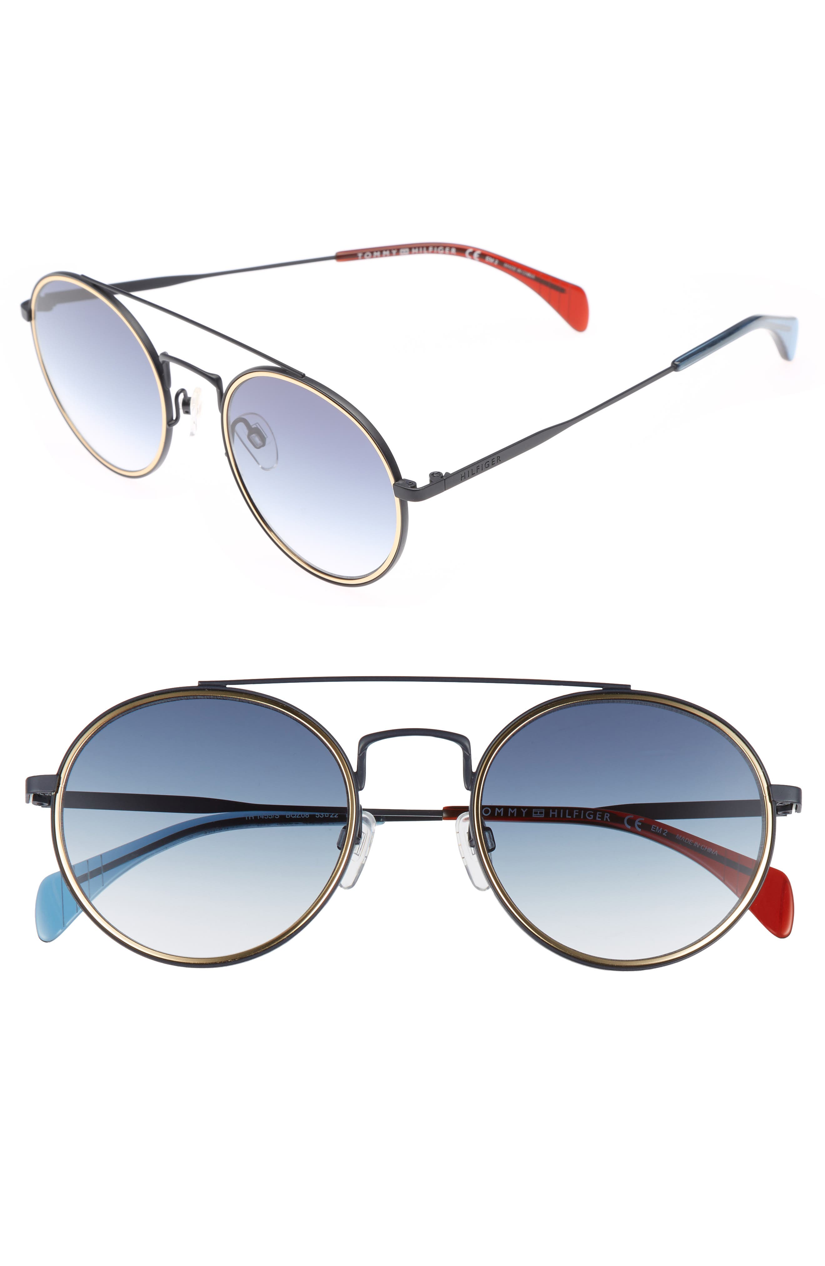 Alternate Image 1 Selected - Tommy Hilfiger 53mm Round Sunglasses