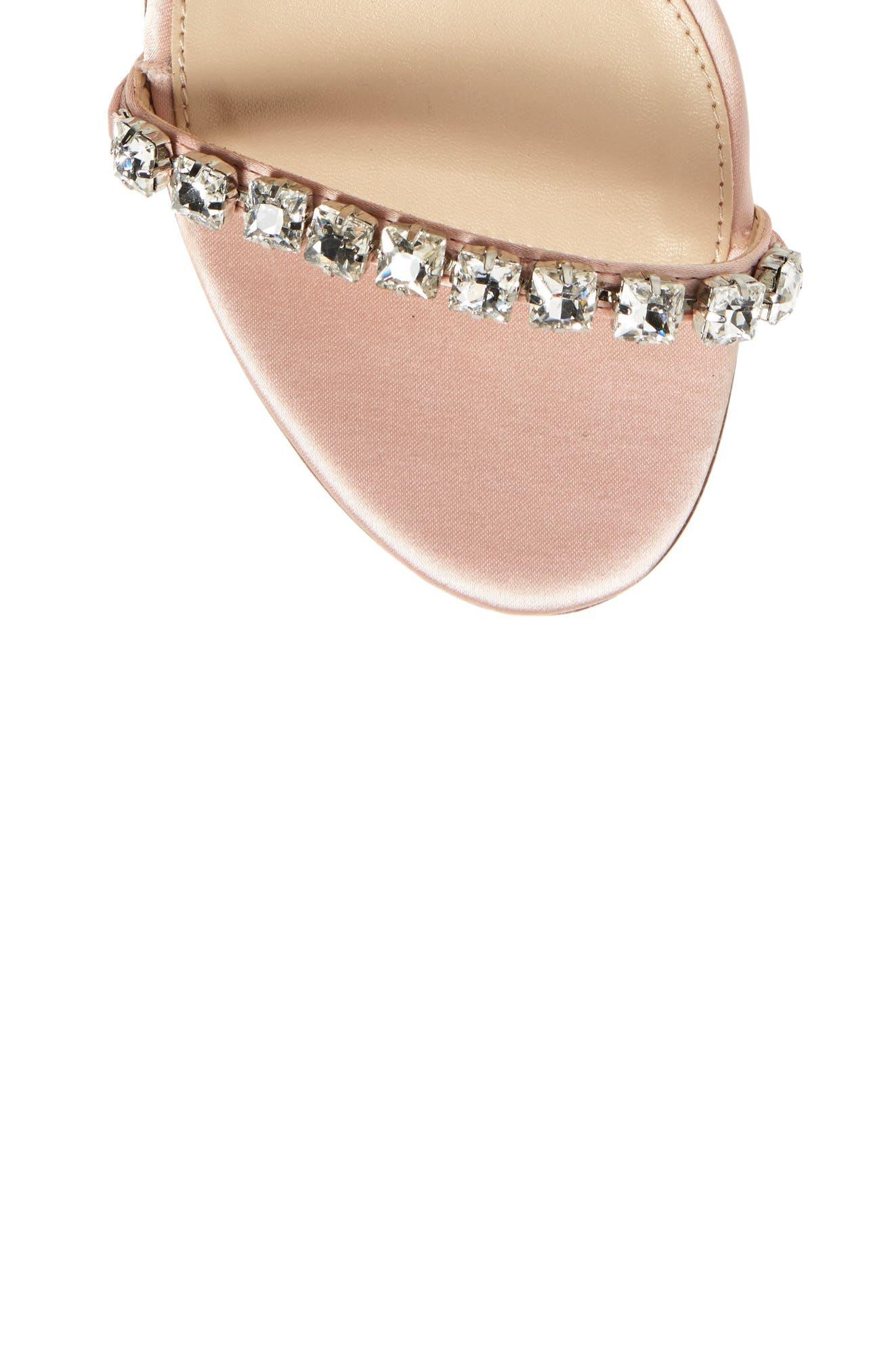 Frisk Embellished Sandal,                             Alternate thumbnail 5, color,                             Blush