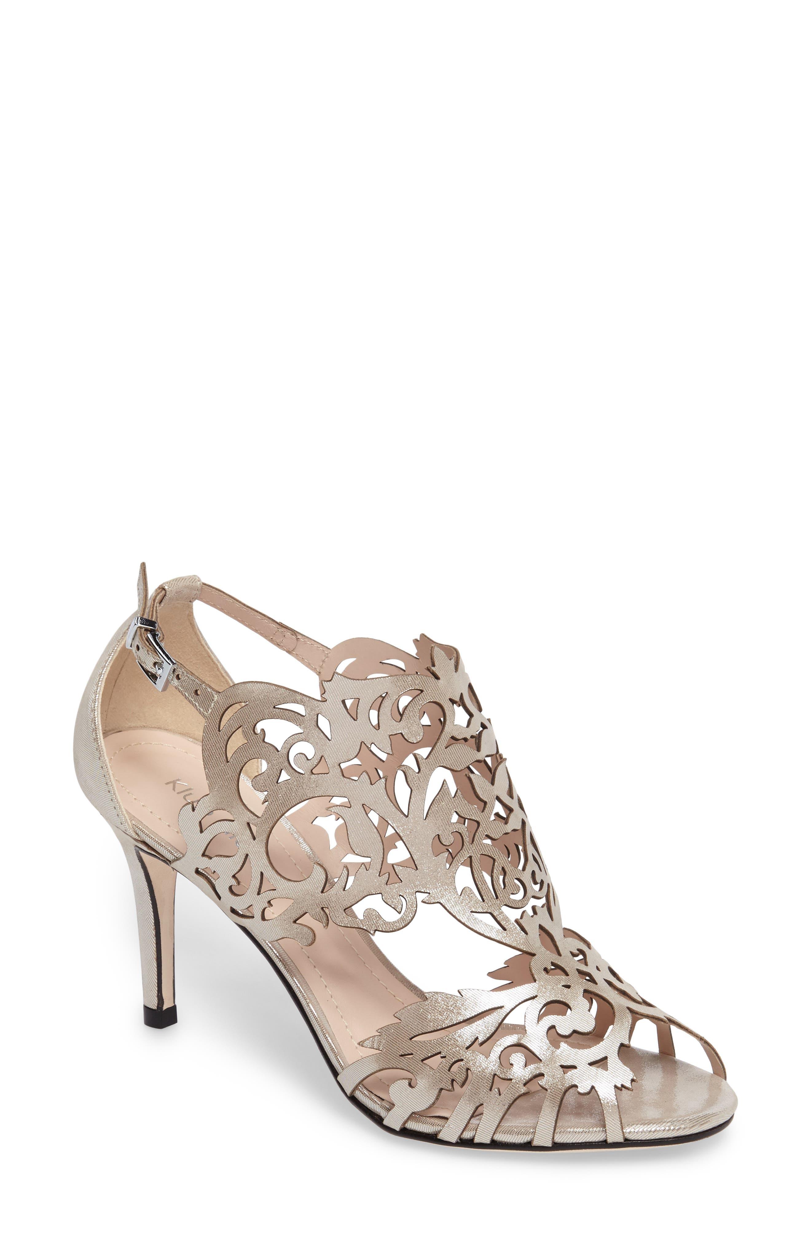 Main Image - Klub Nico Marcela 3 Laser Cutout Sandal (Women)