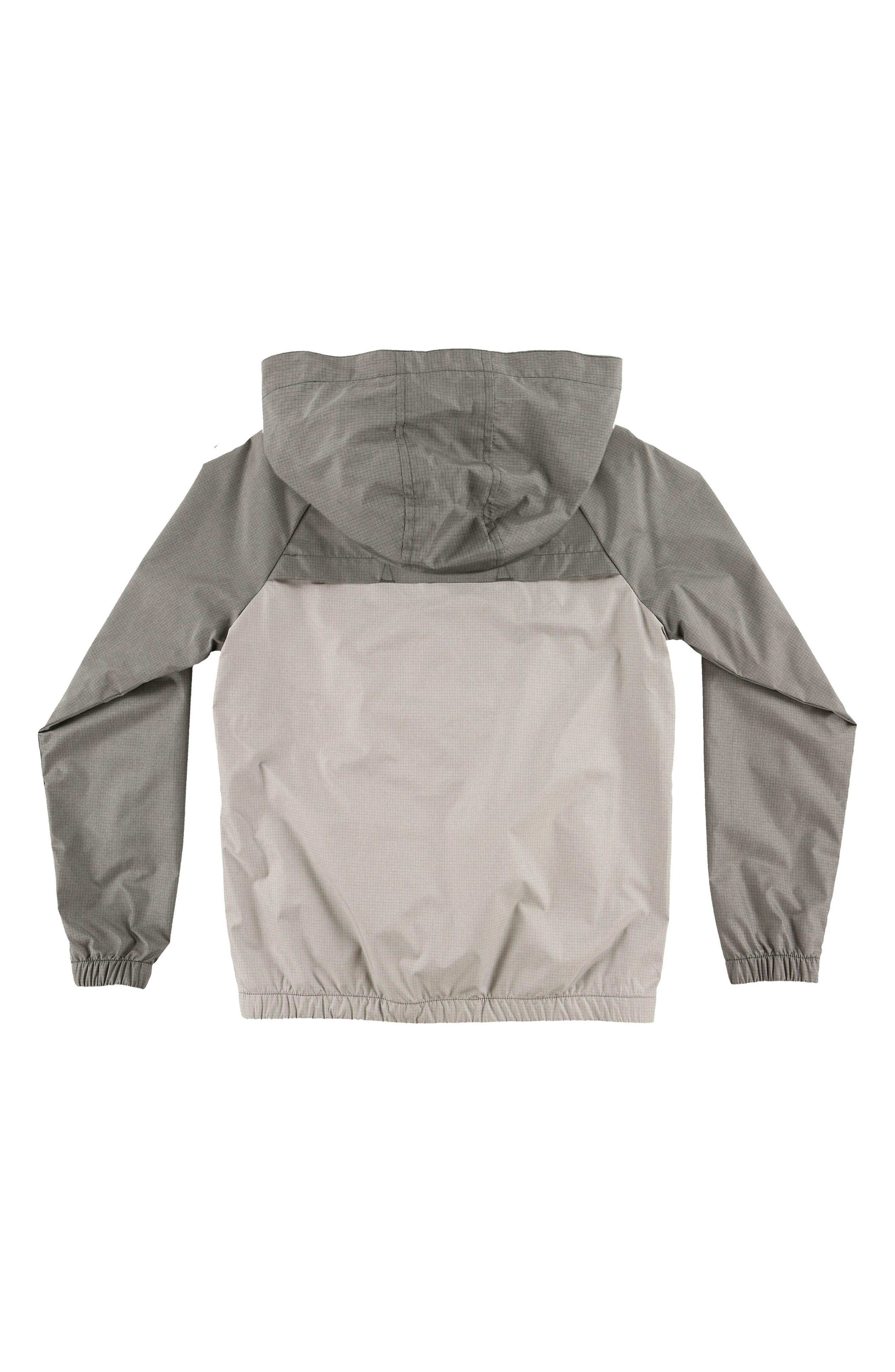 Traveler Packable Windbreaker Jacket,                             Alternate thumbnail 2, color,                             Grey