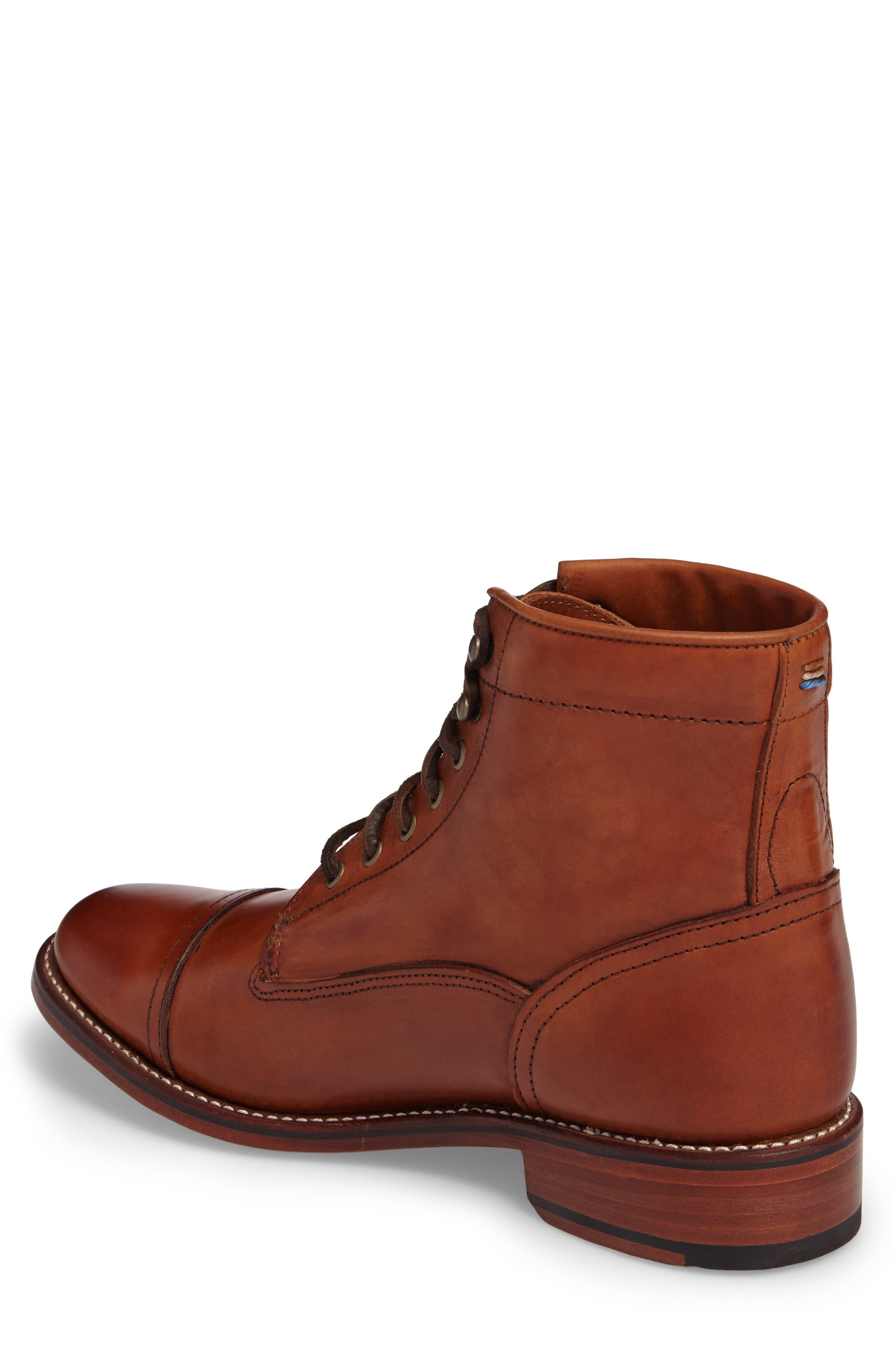Alternate Image 2  - Ariat Highlands Cap Toe Boot (Men)
