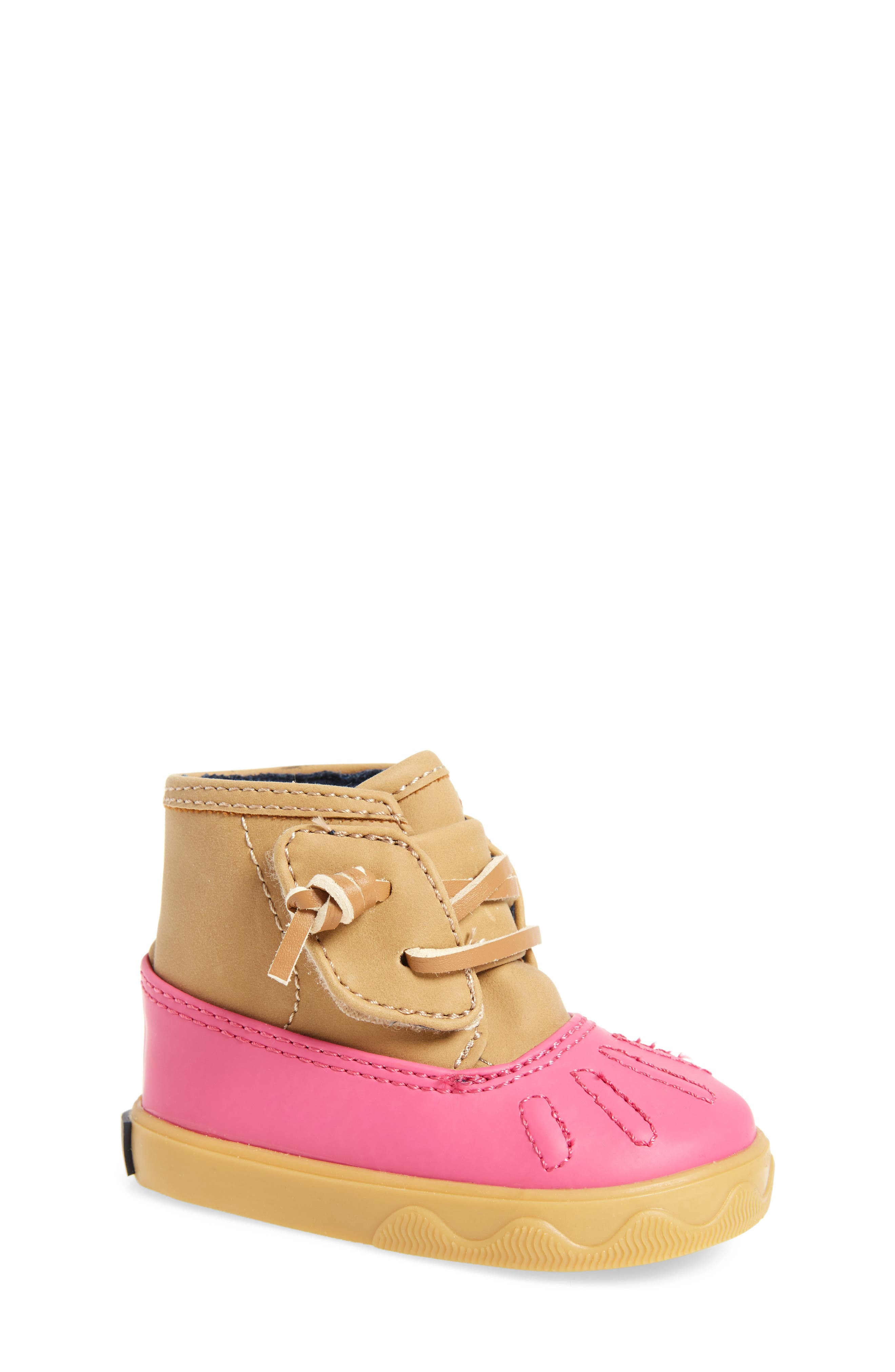 Alternate Image 1 Selected - Sperry Icestorm Crib Duck Bootie (Baby)