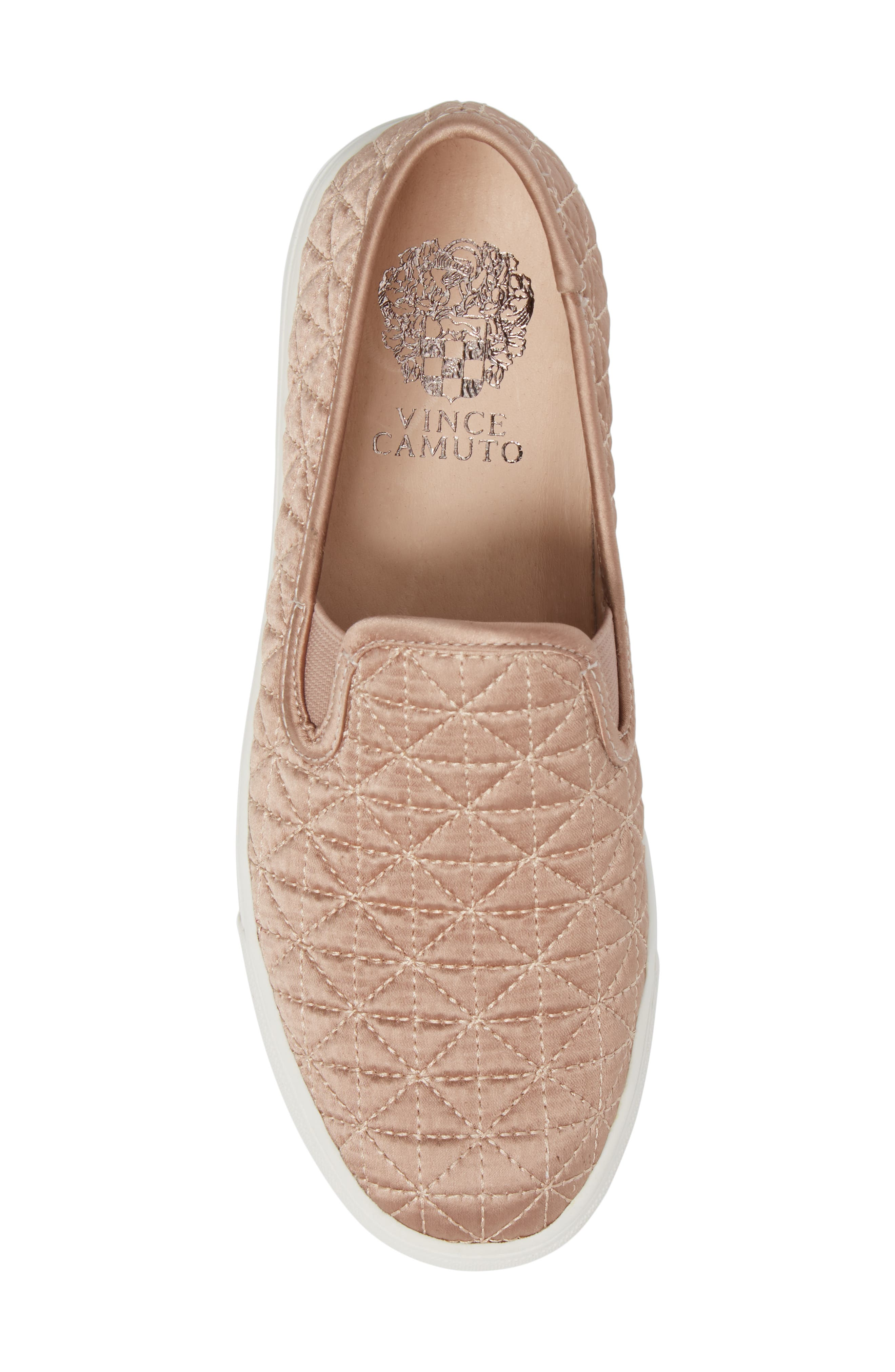 Alternate Image 5  - Vince Camuto Billena Quilted Slip-On Sneaker (Women)