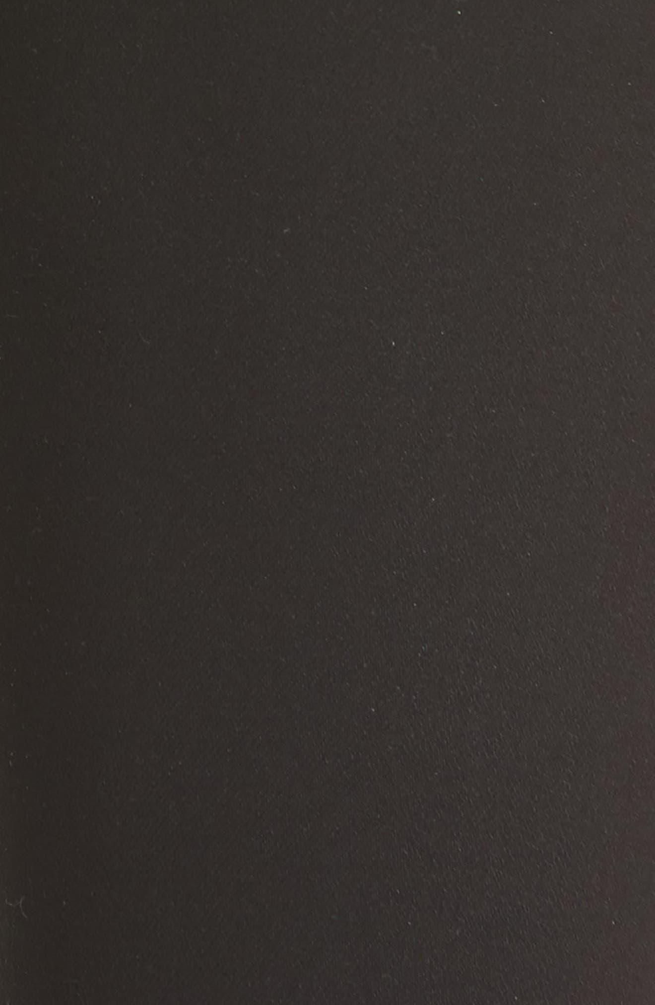 Barbara High Waist Skinny Jeans,                             Alternate thumbnail 6, color,                             Noir Coated