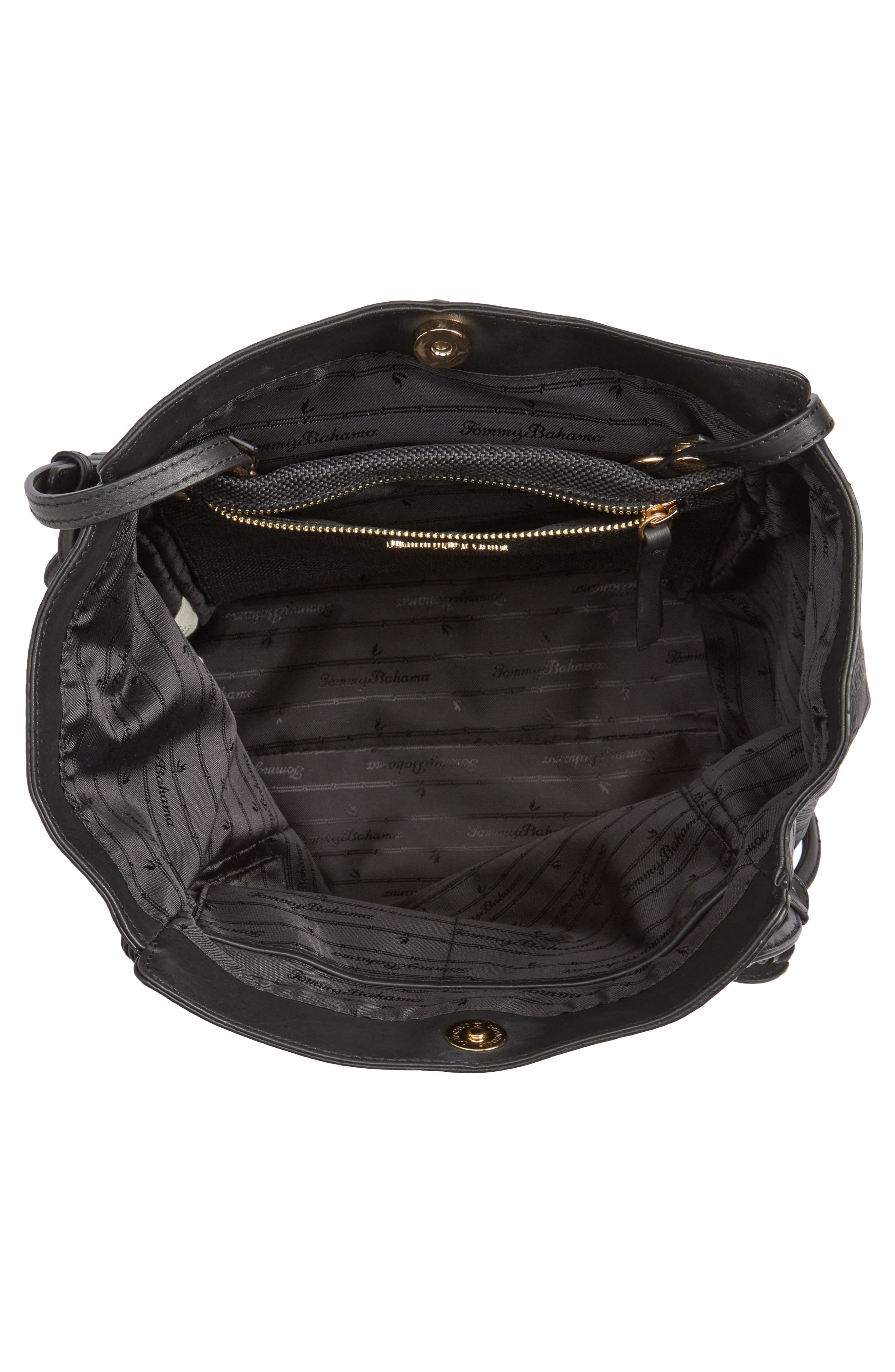 Alternate Image 3  - Tommy Bahama Embossed Leather Tote