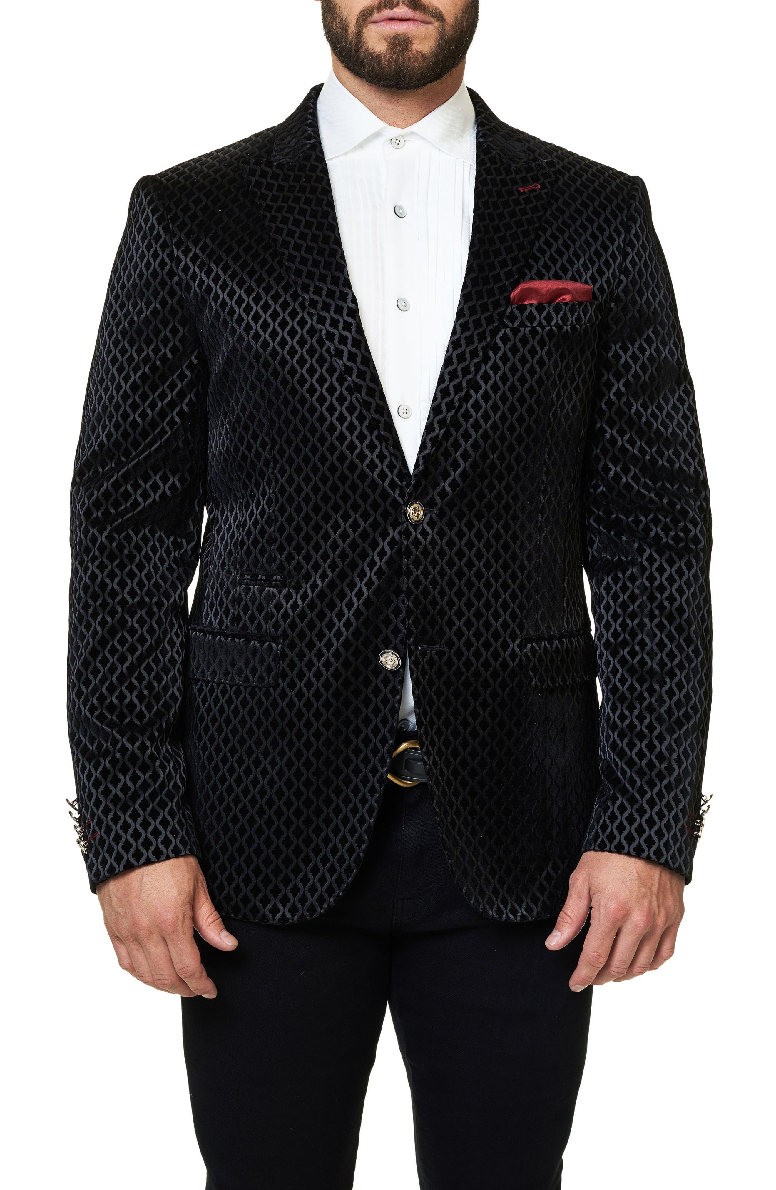 Maceoo Elegance Jacquard Sport Coat