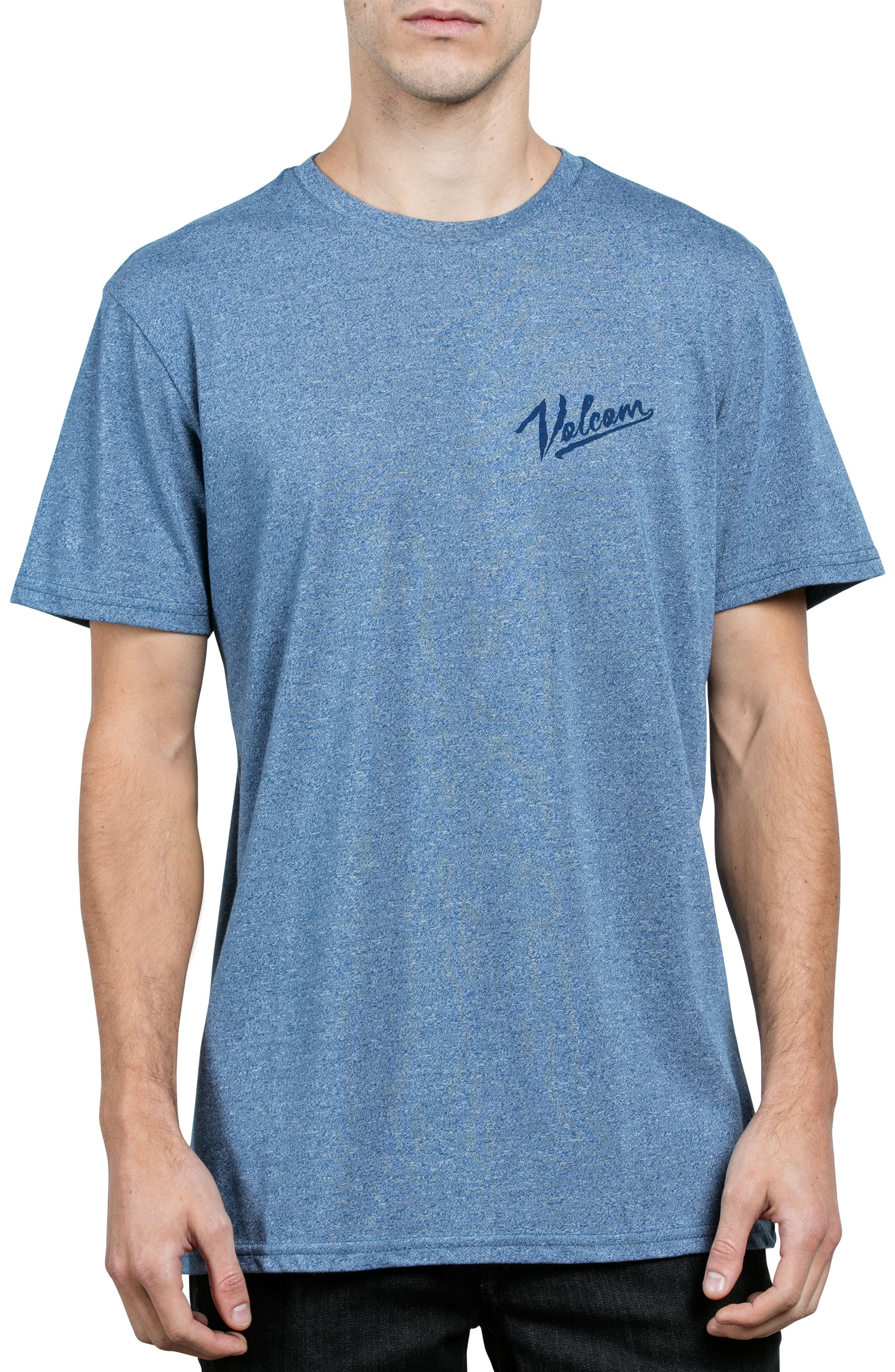 Kurrent Logo Graphic T-Shirt,                             Main thumbnail 1, color,                             Blue