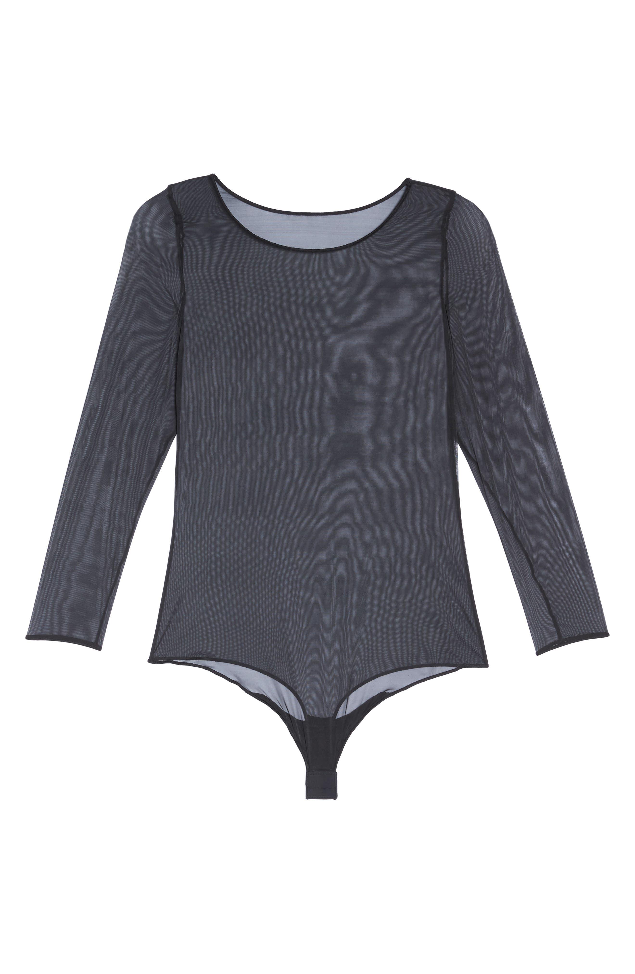 Alternate Image 4  - SPANX® Thong Bodysuit (Plus Size)