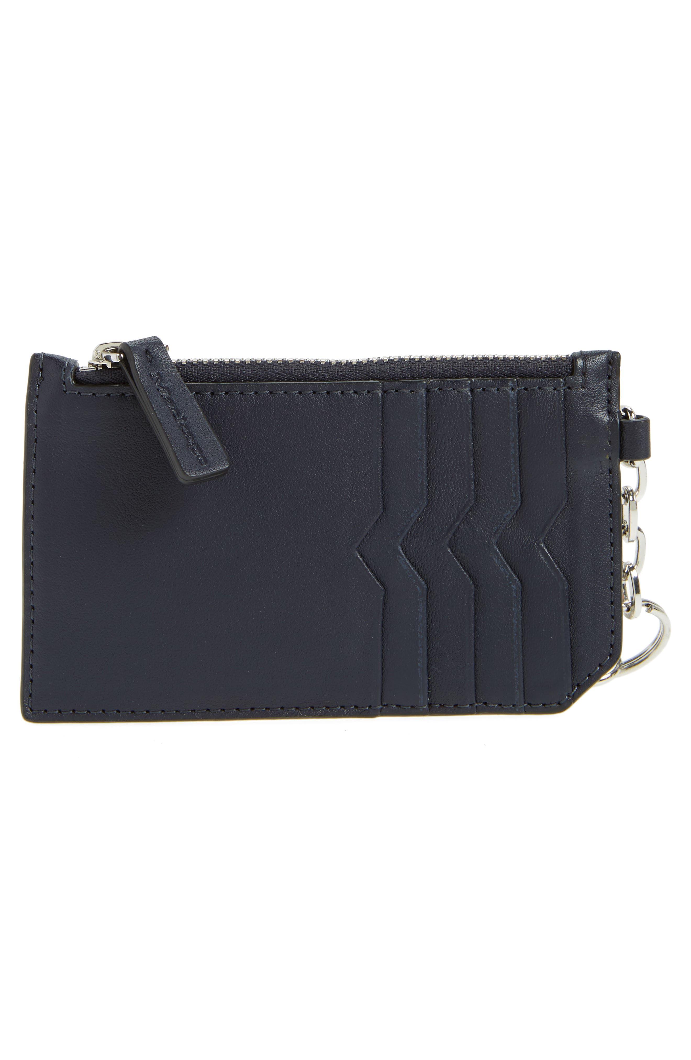 MACKAGE Taj Leather Card Case