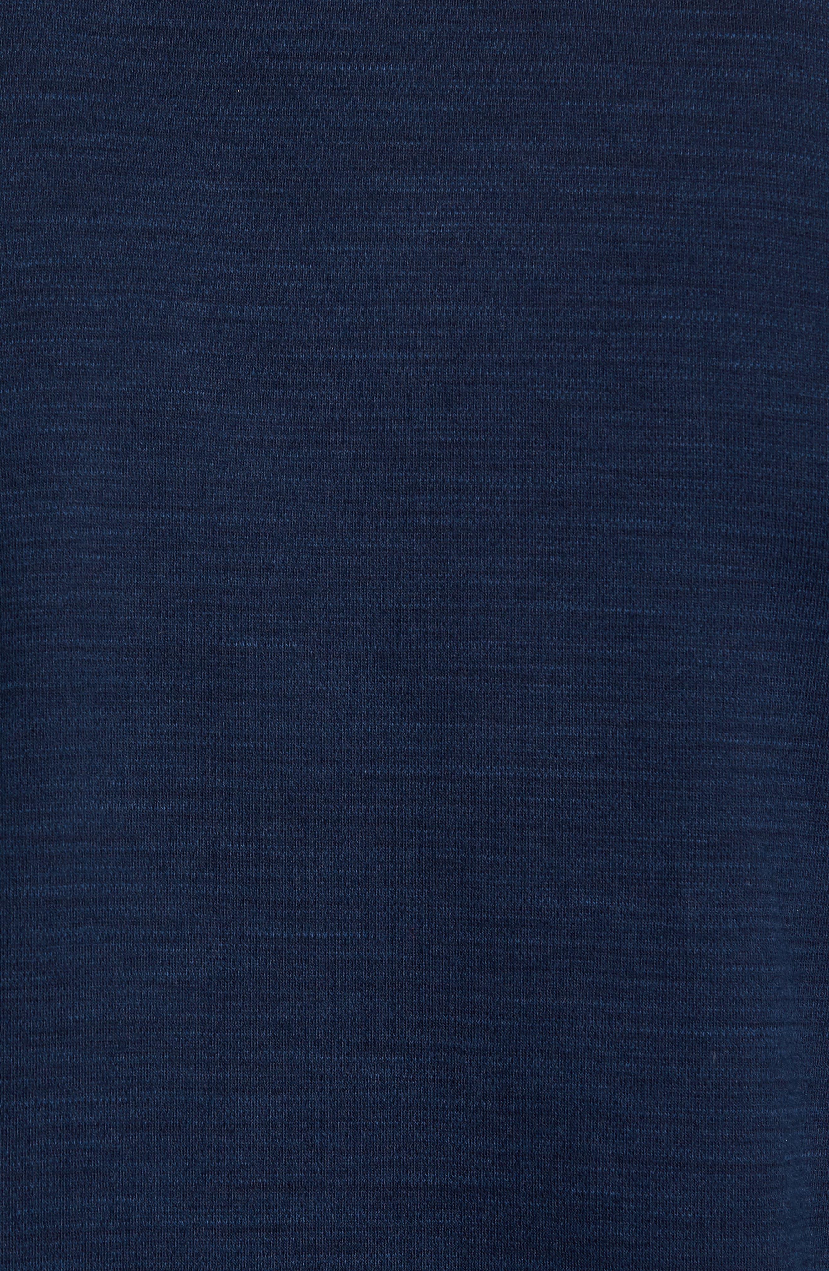 Shelton Cotton Sweater,                             Alternate thumbnail 5, color,                             Ocean
