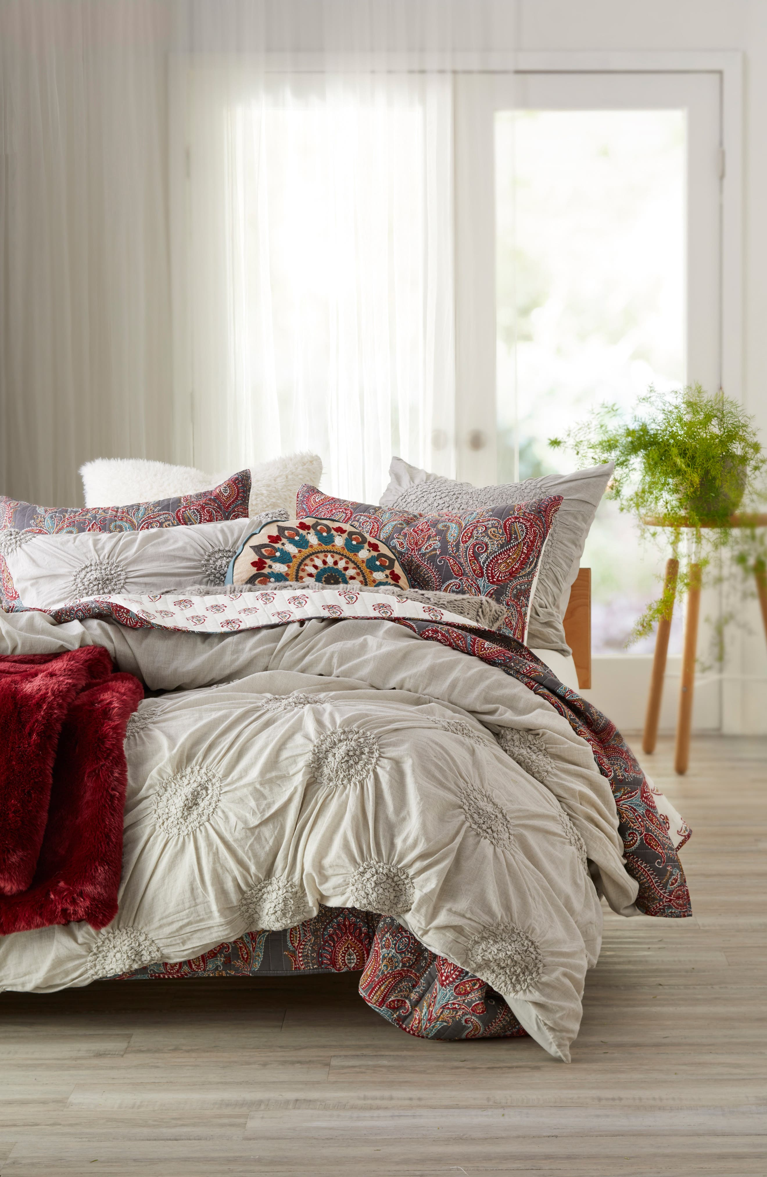 Nordstrom at Home Chloe Duvet & Levtex Presidio Quilt Bedding Collection