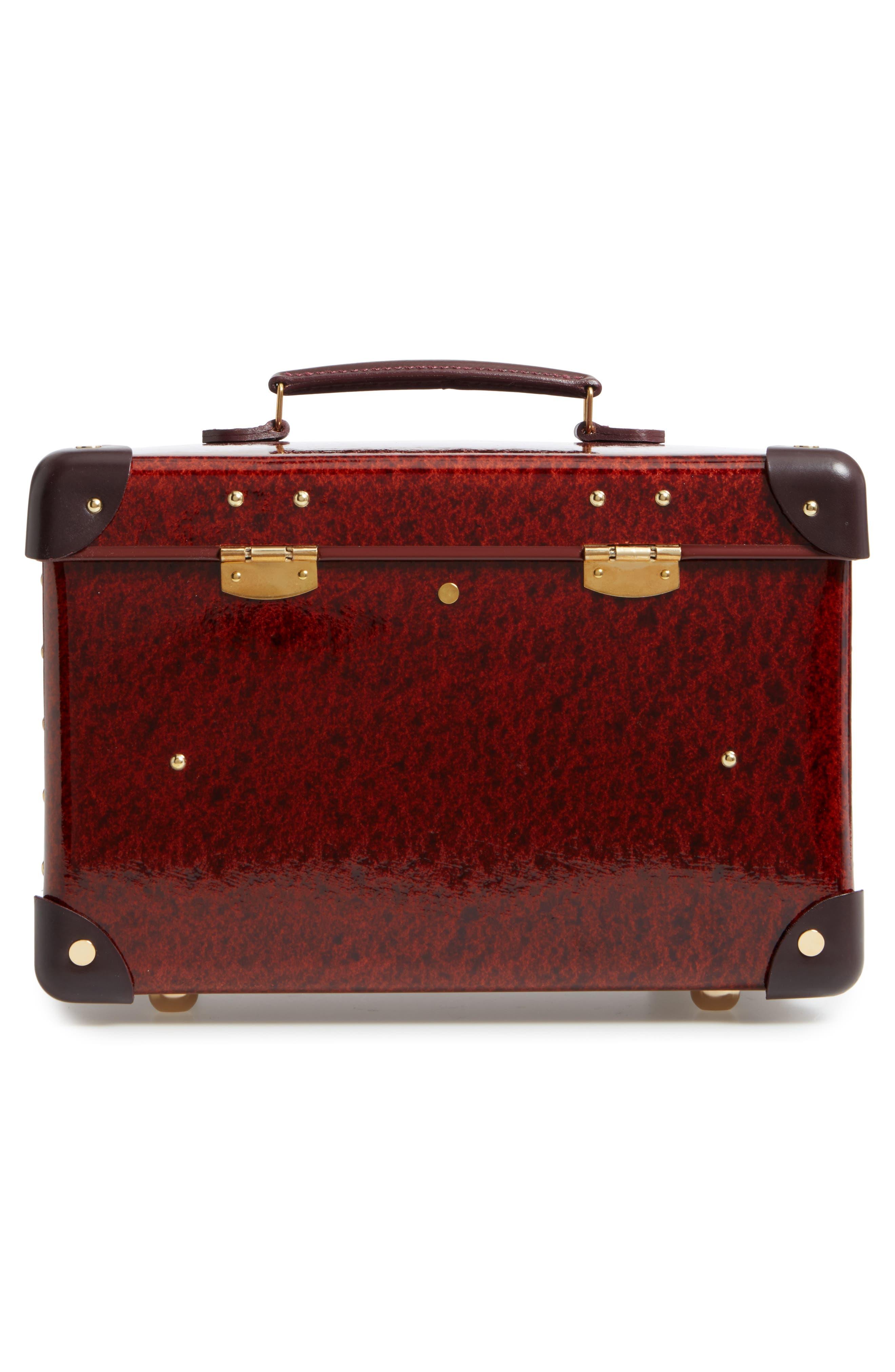Orient 13-Inch Hardshell Vanity Case,                             Alternate thumbnail 3, color,                             Urushi/ Burgundy
