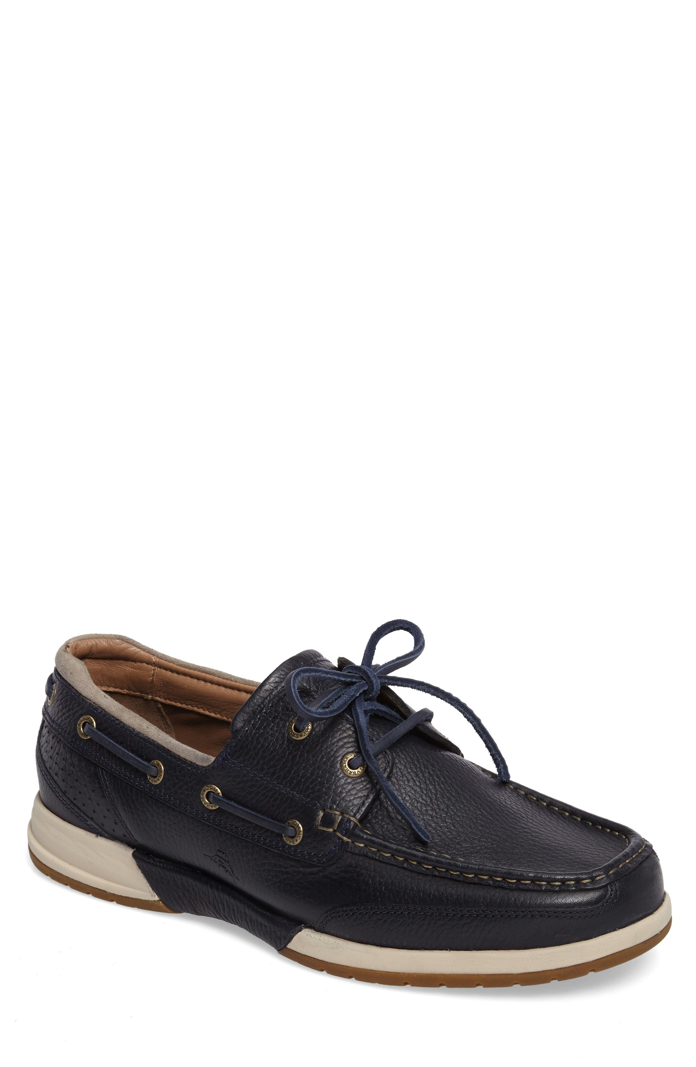 Alternate Image 1 Selected - Tommy Bahama Ashore Thing Boat Shoe (Men)