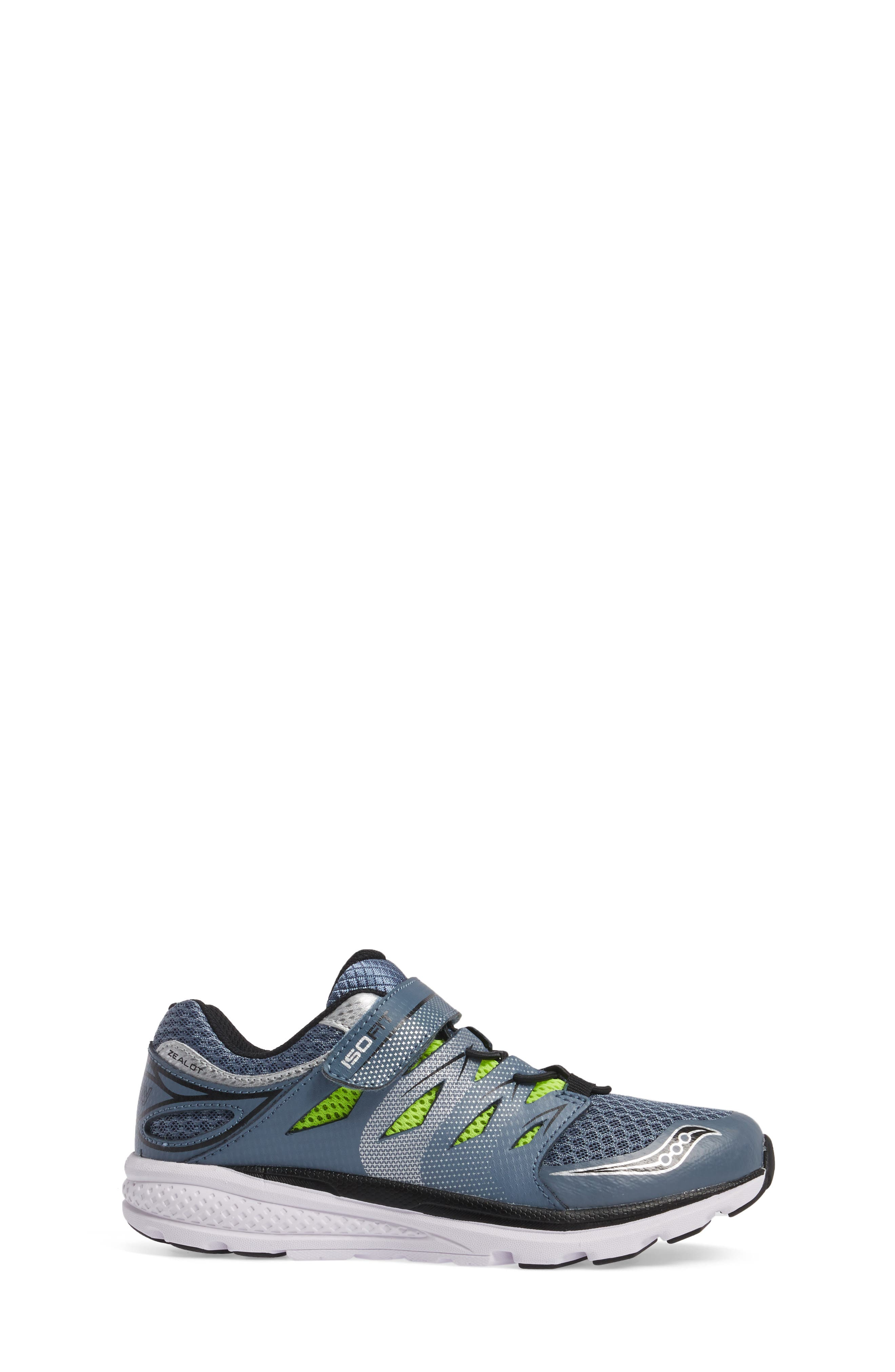 Alternate Image 3  - Saucony 'Zealot 2 AC' Running Shoe (Toddler & Little Kid)